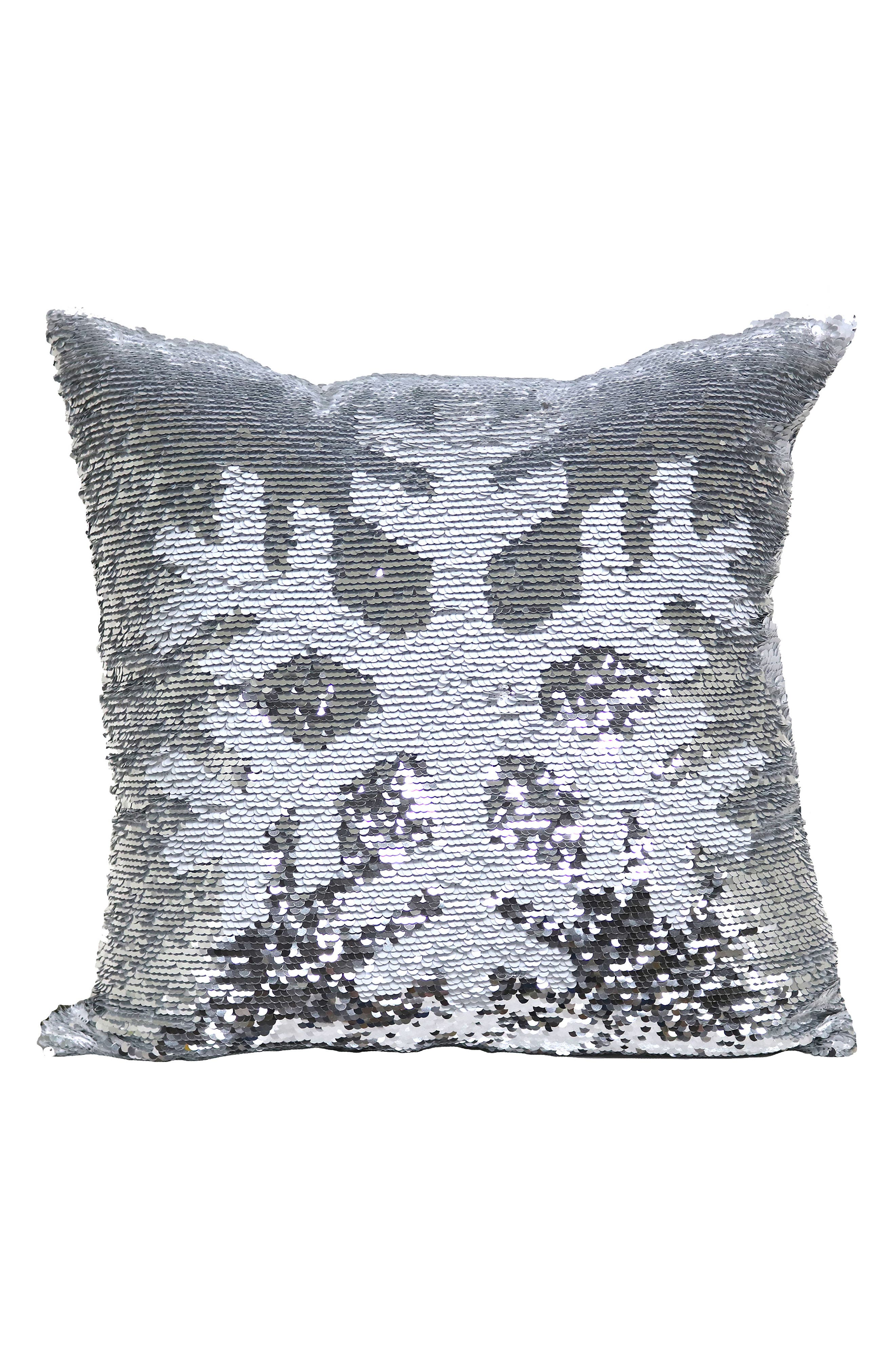Brentwood Originals Snowflake Sequin Accent Pillow