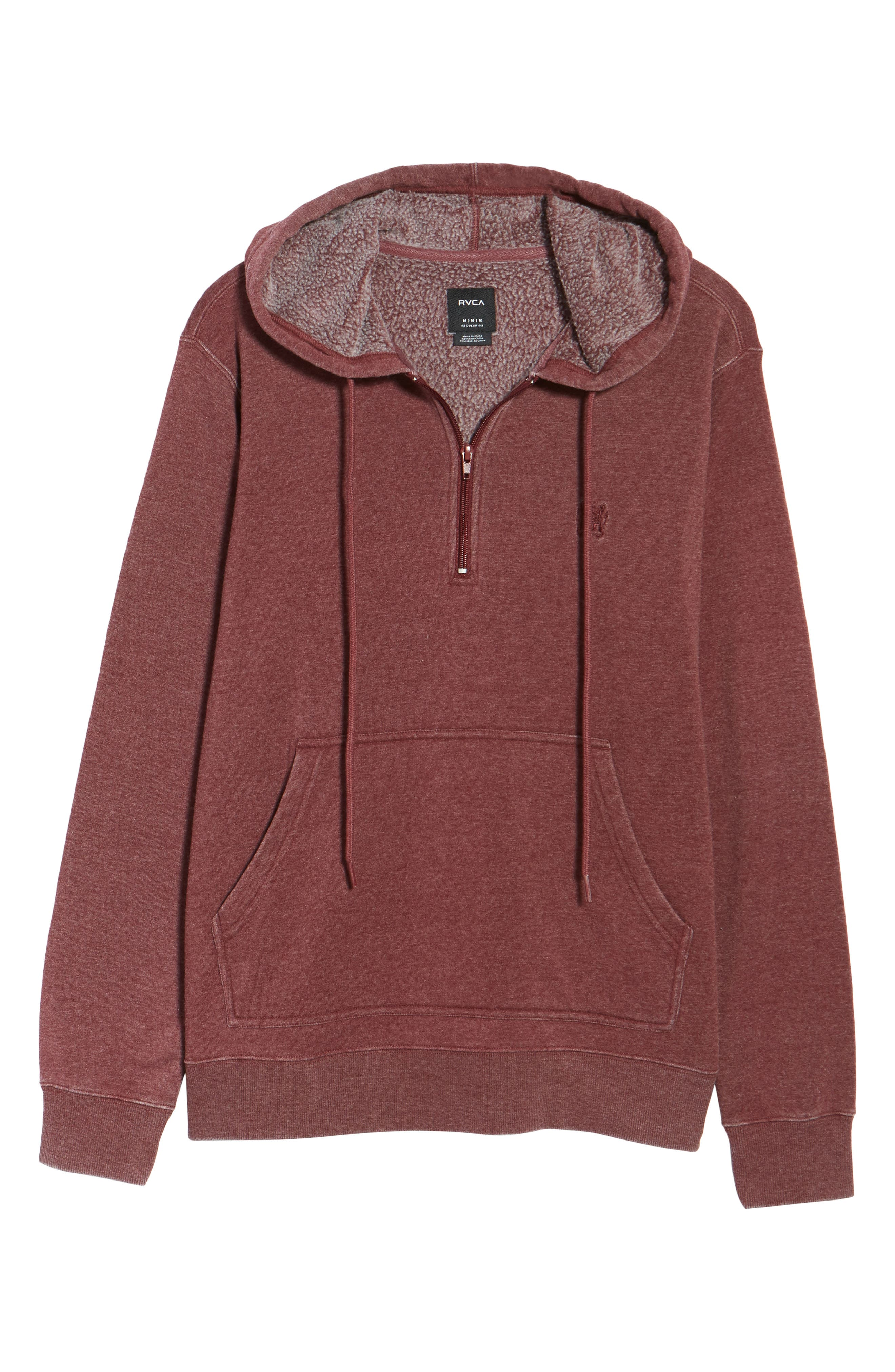 Sunwash Hoodie,                             Alternate thumbnail 6, color,                             Tawny Port