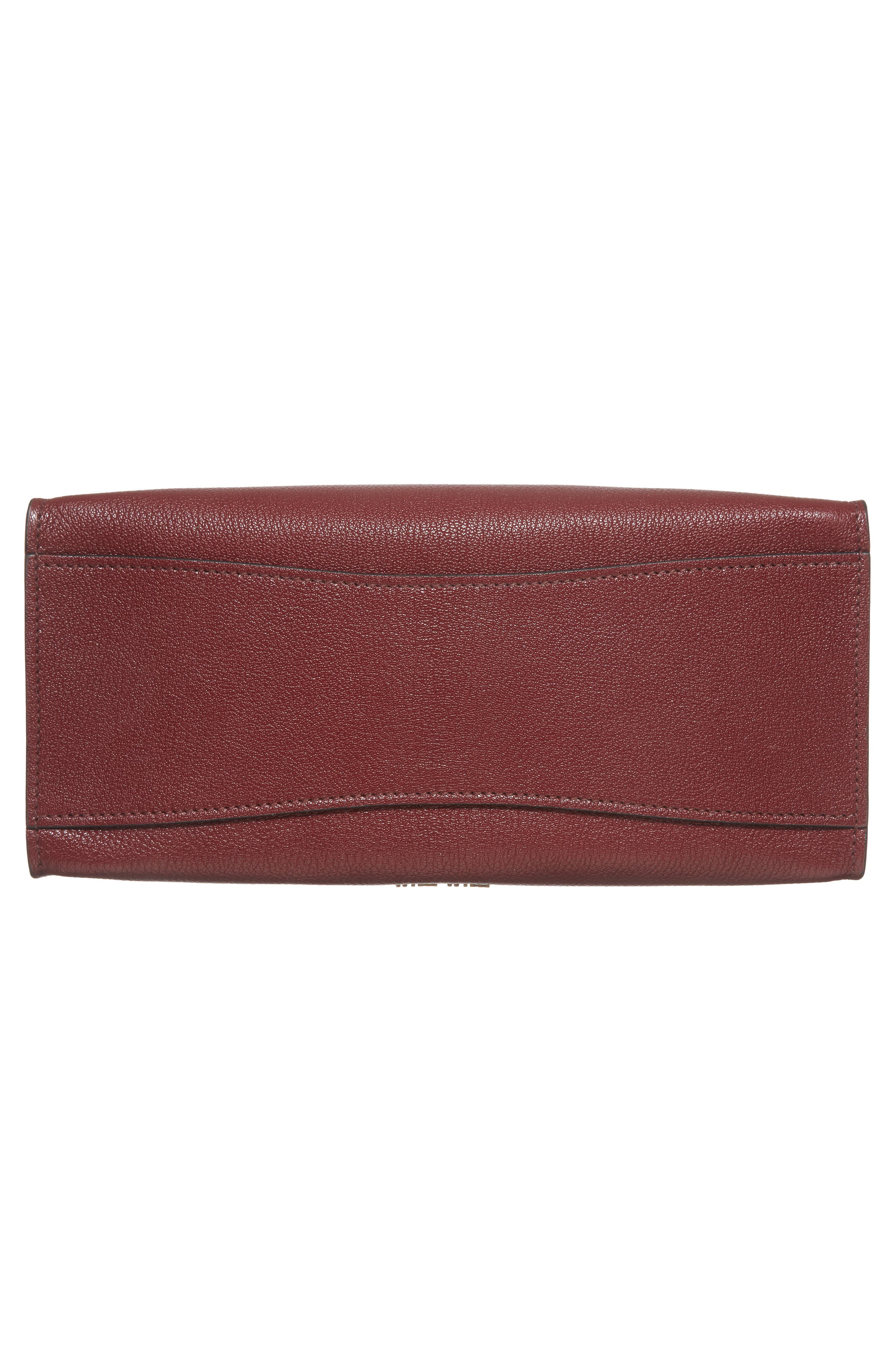 Alternate Image 6  - Miu Miu Madras Click Goatskin Leather Satchel