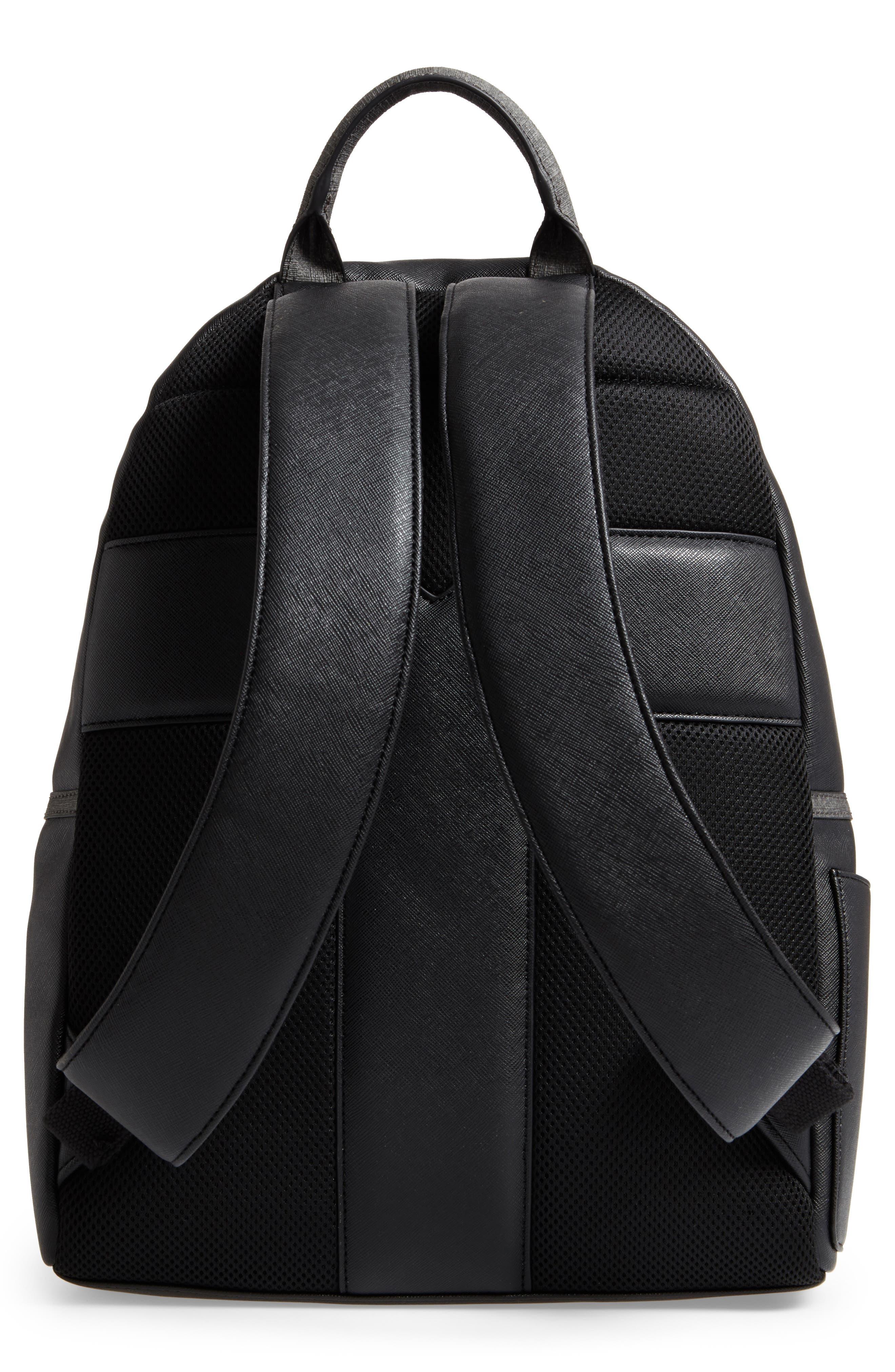 Fangs Backpack,                             Alternate thumbnail 3, color,                             Black