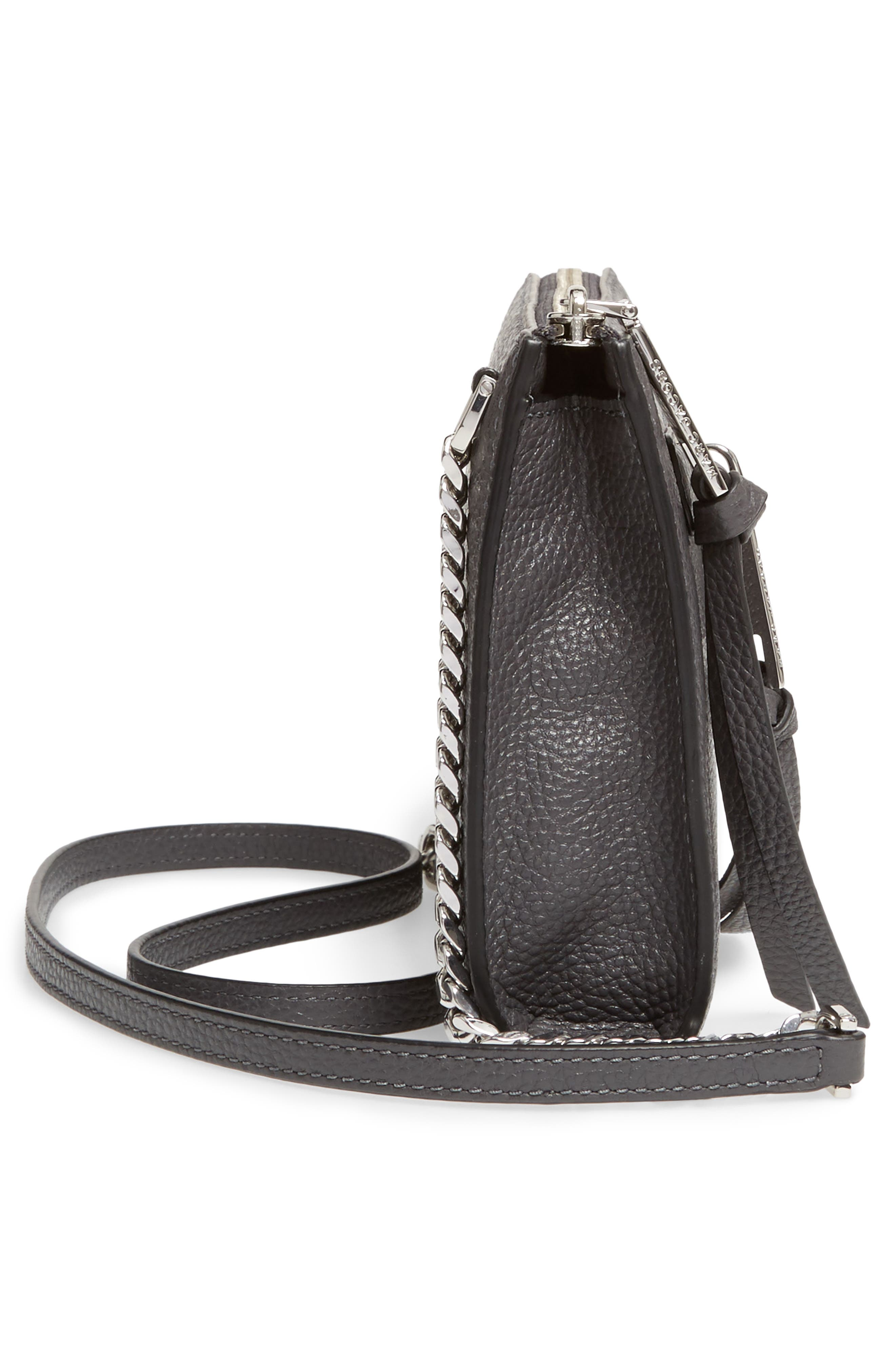 Alternate Image 4  - MARC JACOBS Small Recruit Leather Crossbody Bag