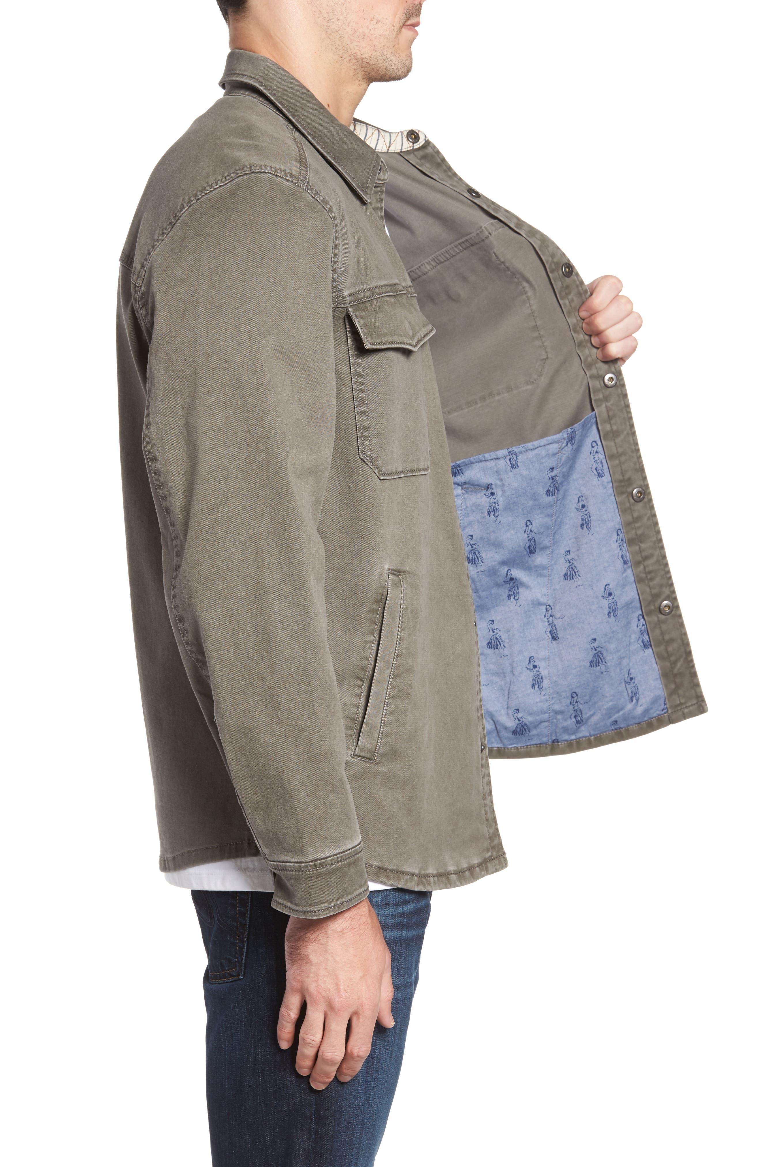 Alternate Image 3  - Tommy Bahama Sea Glass Shirt Jacket