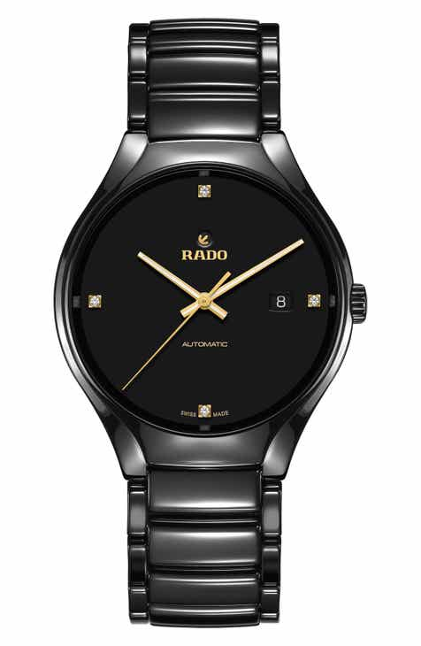 8b861429d8a RADO True Diamond Marker Ceramic Bracelet Watch