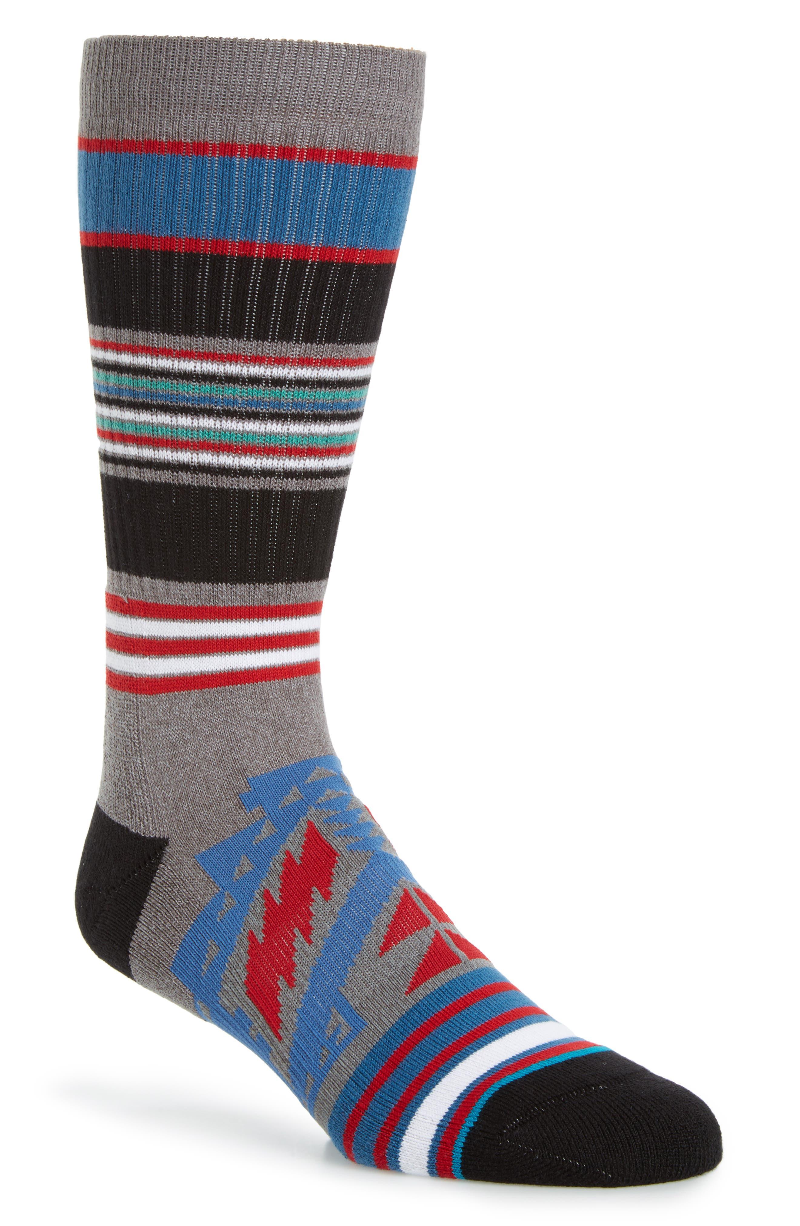 Sparta Classic Crew Socks,                         Main,                         color, Grey