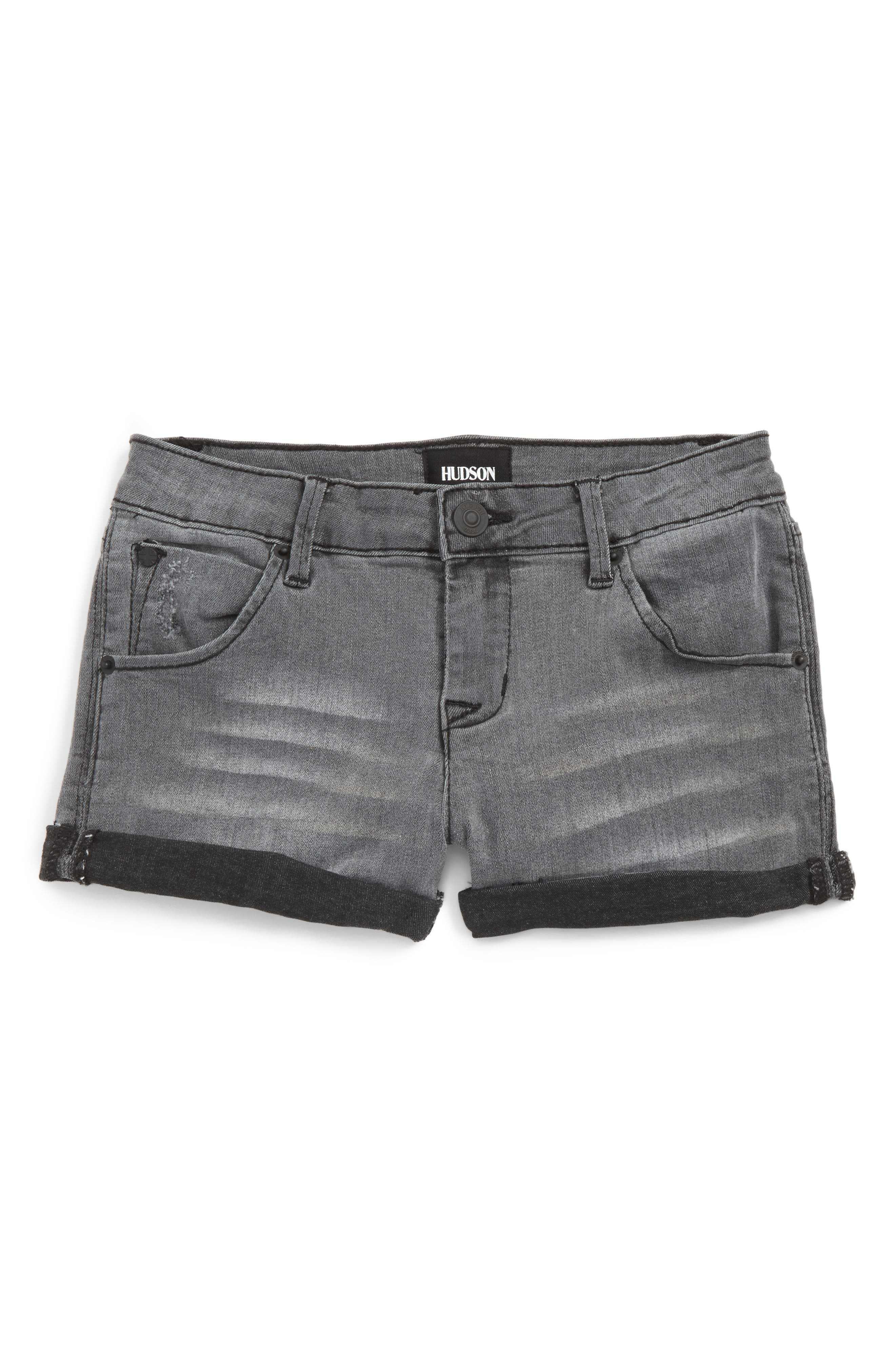 HUDSON KIDS Roll Cuff Denim Shorts
