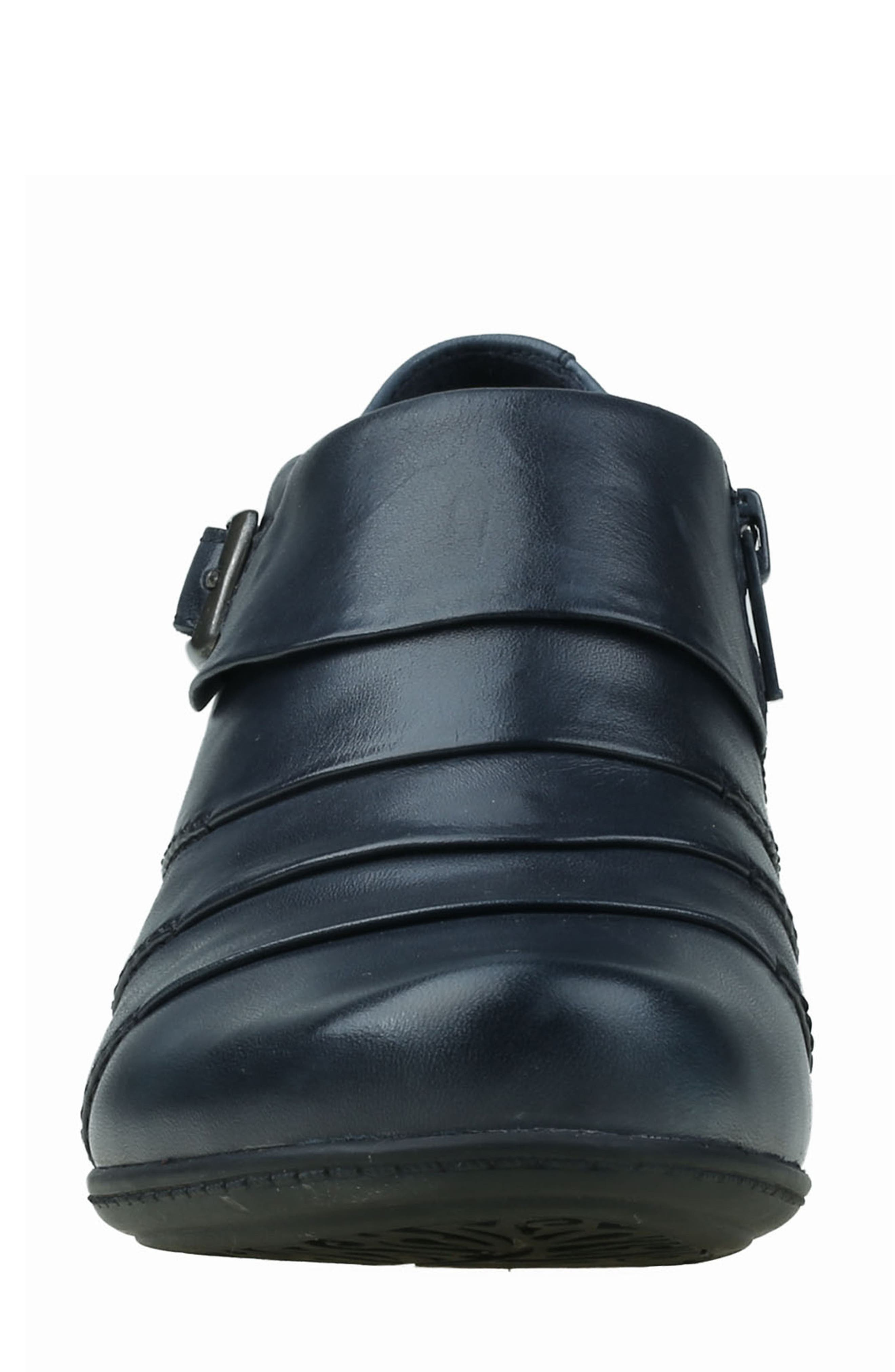 Dawn Bootie,                             Alternate thumbnail 4, color,                             Admiral Blue Leather