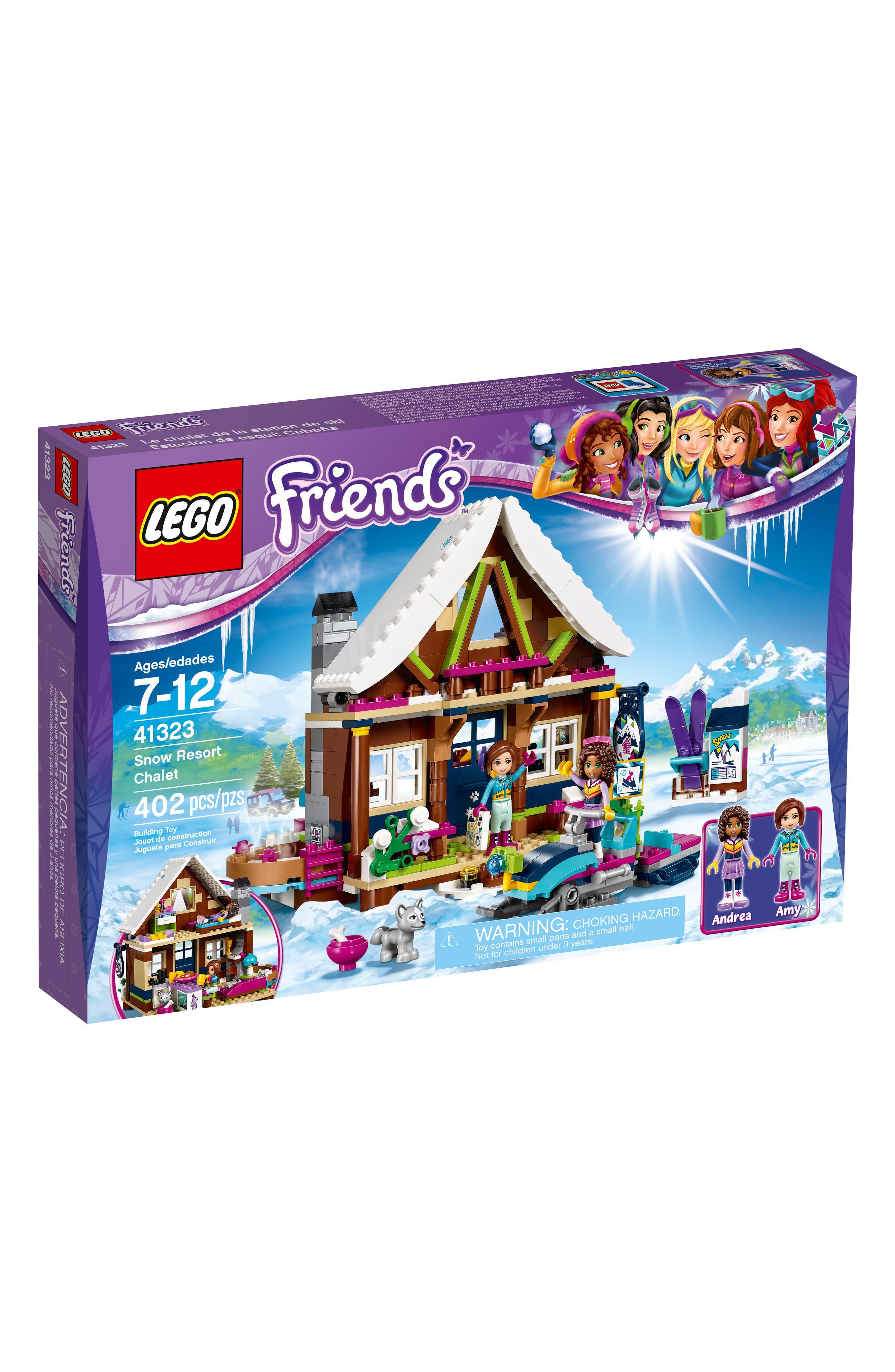 LEGO® Friends Snow Resort Chalet Play Set - 41323