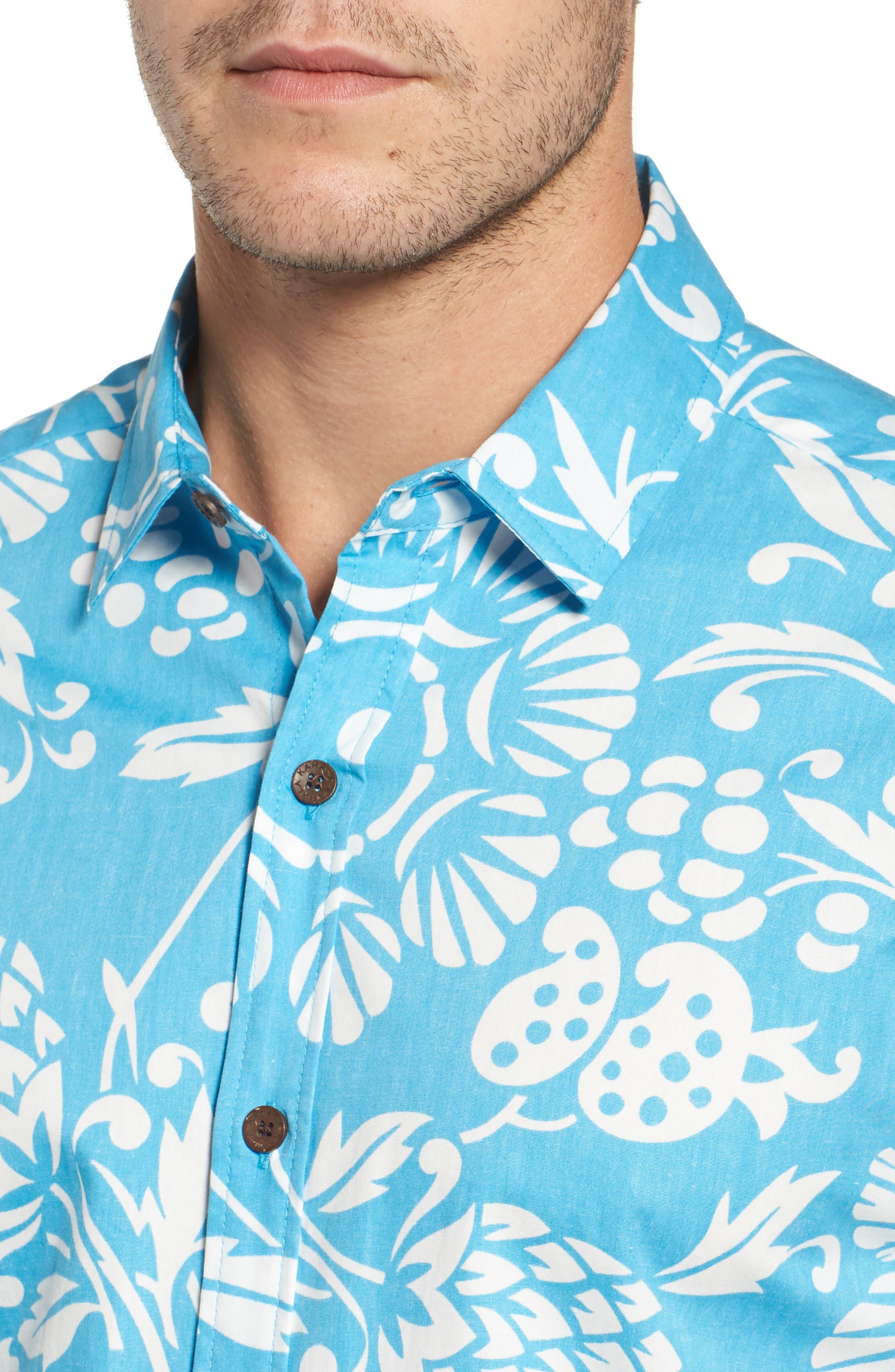 Alternate Image 4  - Kahala 'Dukes Par' Trim Fit Sport Shirt