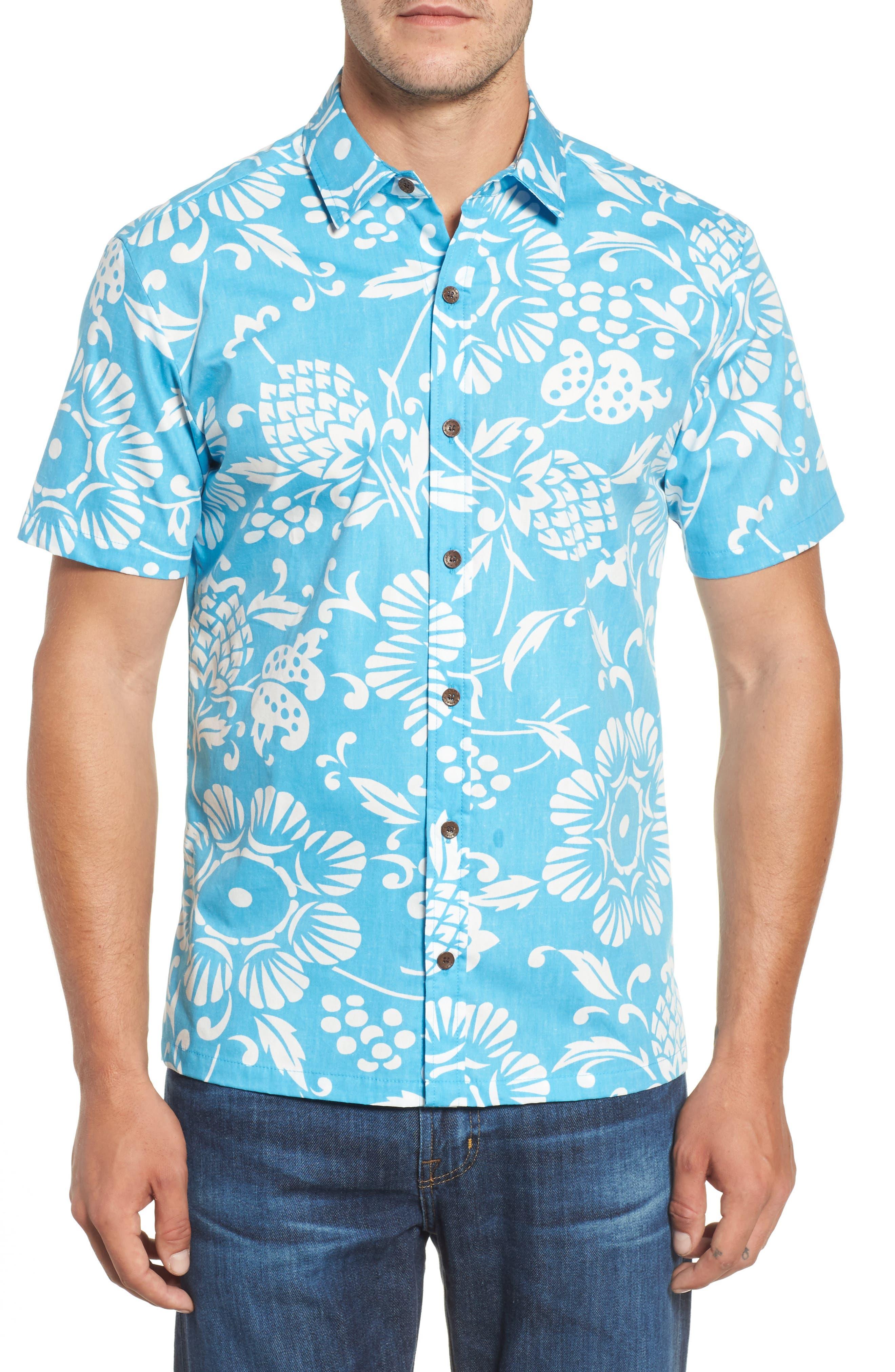 Main Image - Kahala 'Dukes Par' Trim Fit Sport Shirt