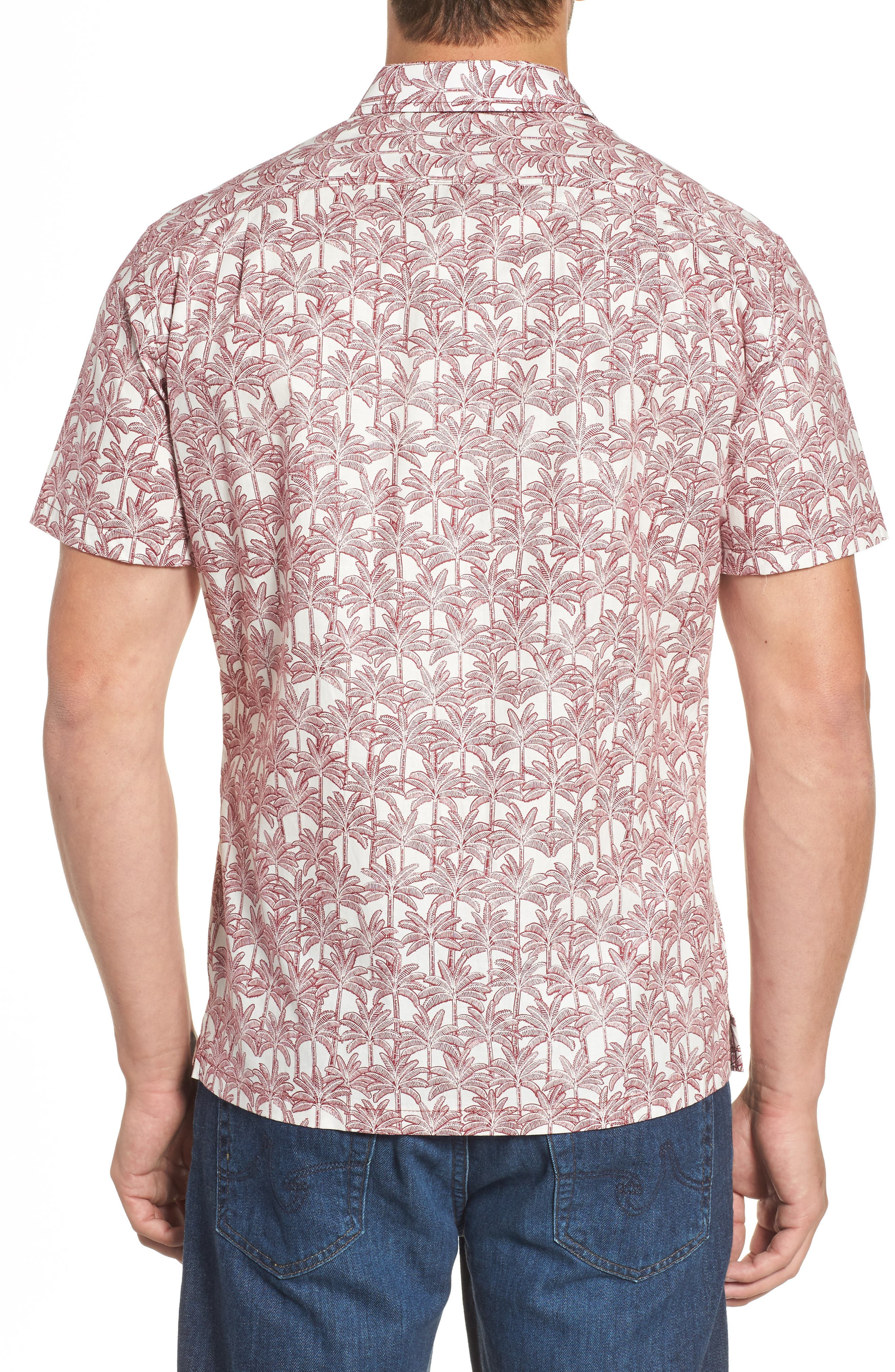 Alternate Image 2  - Tori Richard La Palma Regular Fit Print Sport Shirt