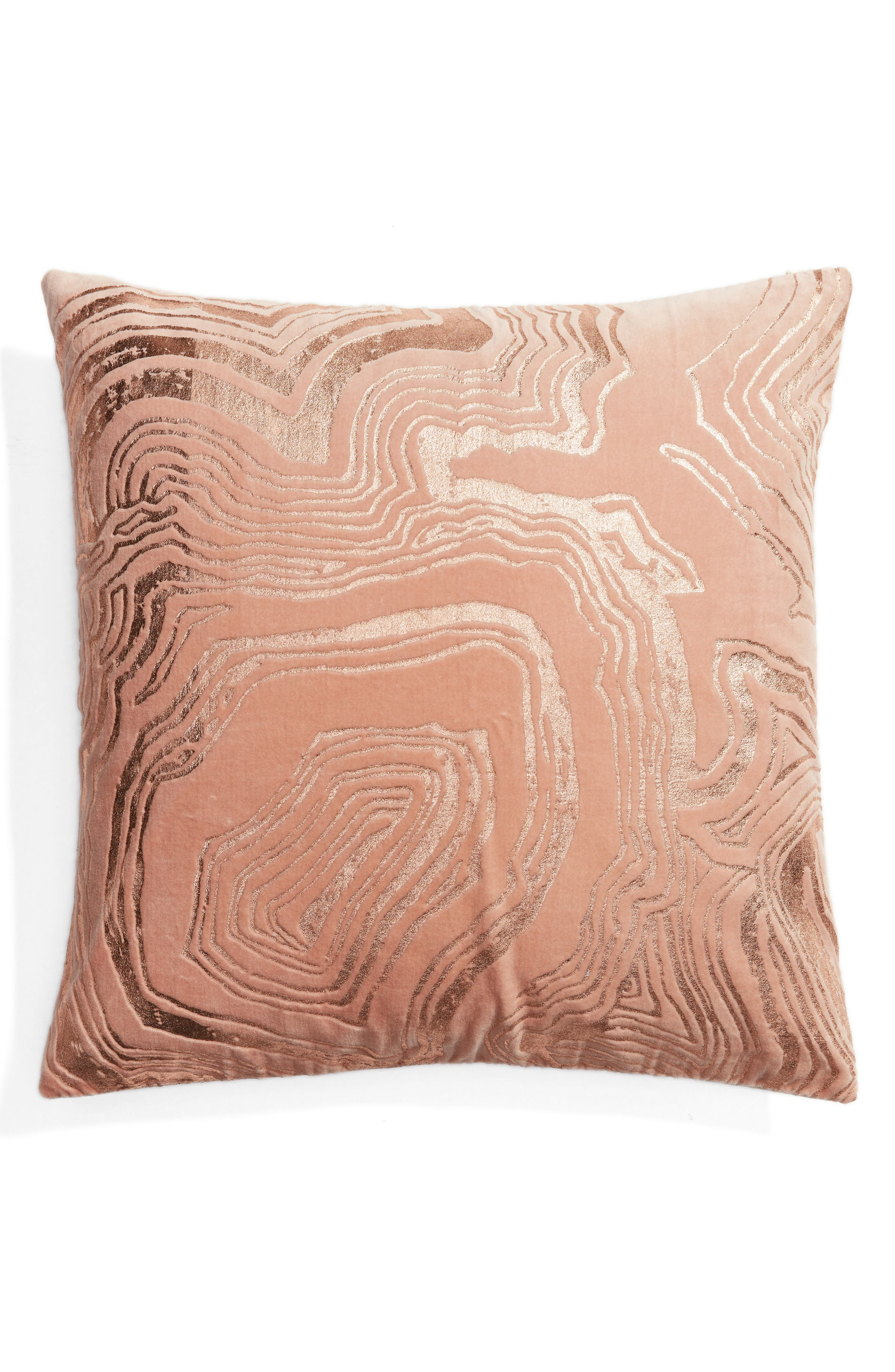 Nordstrom at Home Foil Print Pillow