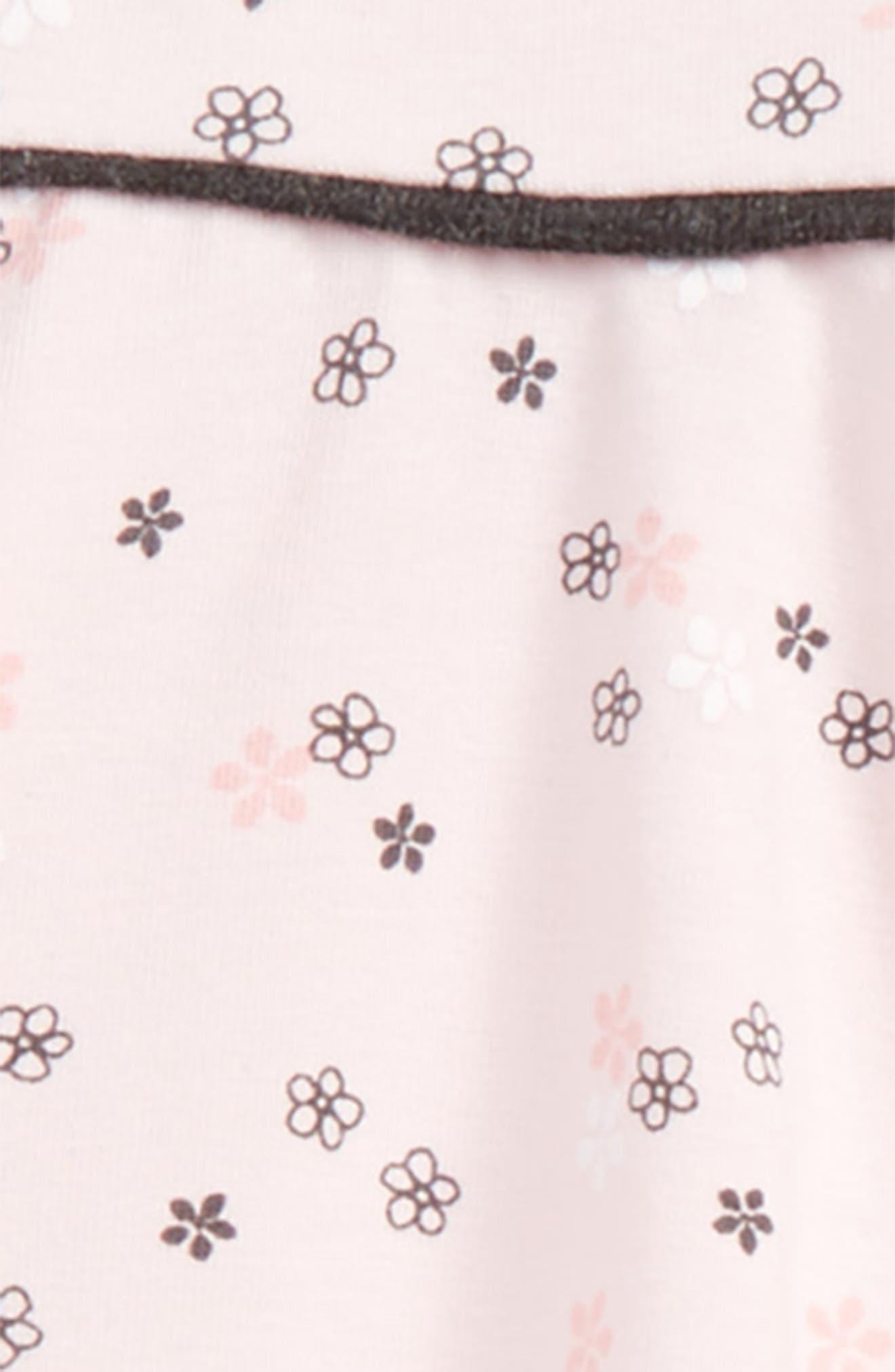 Alternate Image 2  - Offspring Delicate Blush Tunic & Leggings Set (Baby Girls)