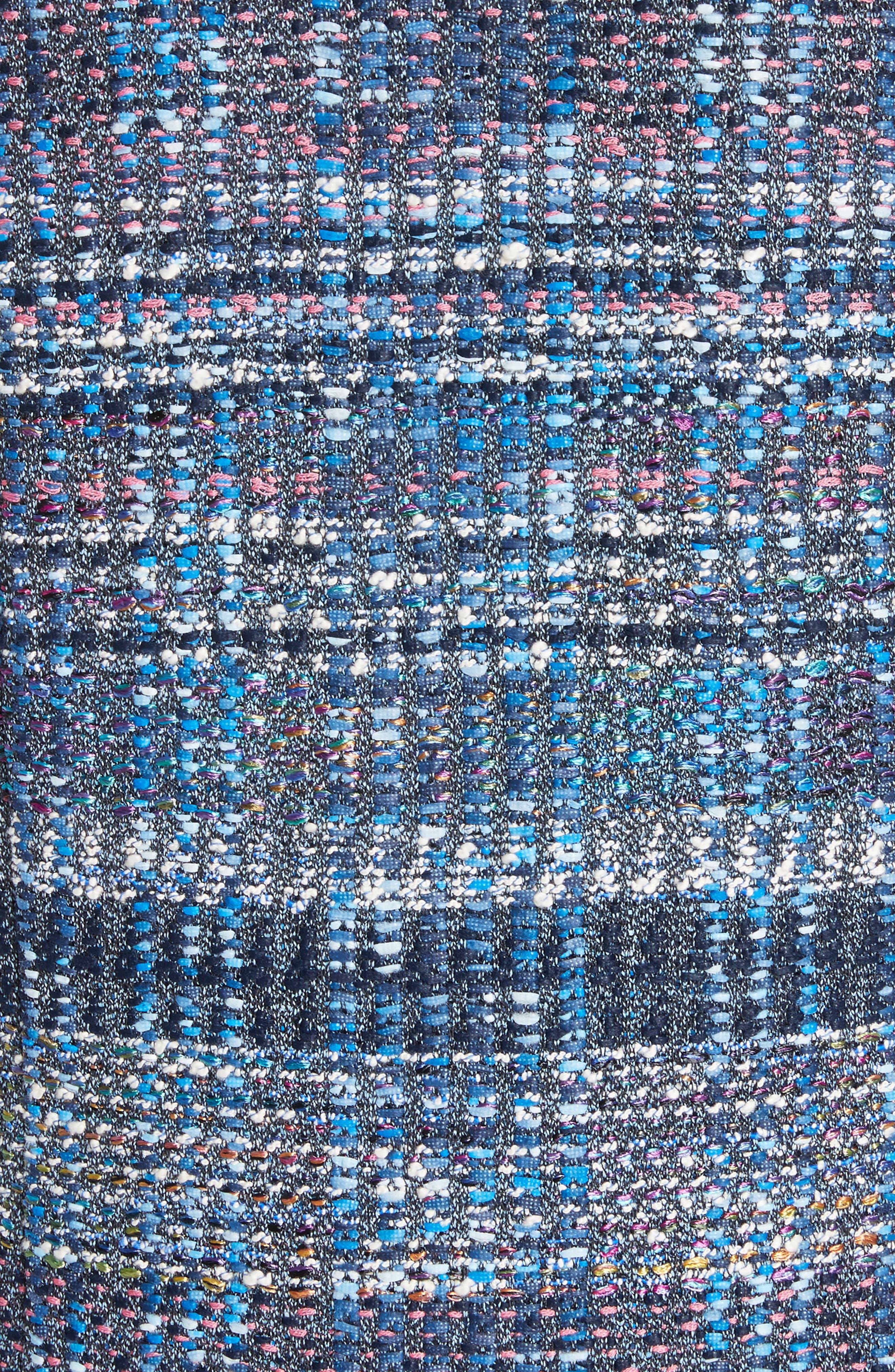 Watercolor Placed Knit,                             Alternate thumbnail 6, color,                             Niagara Multi