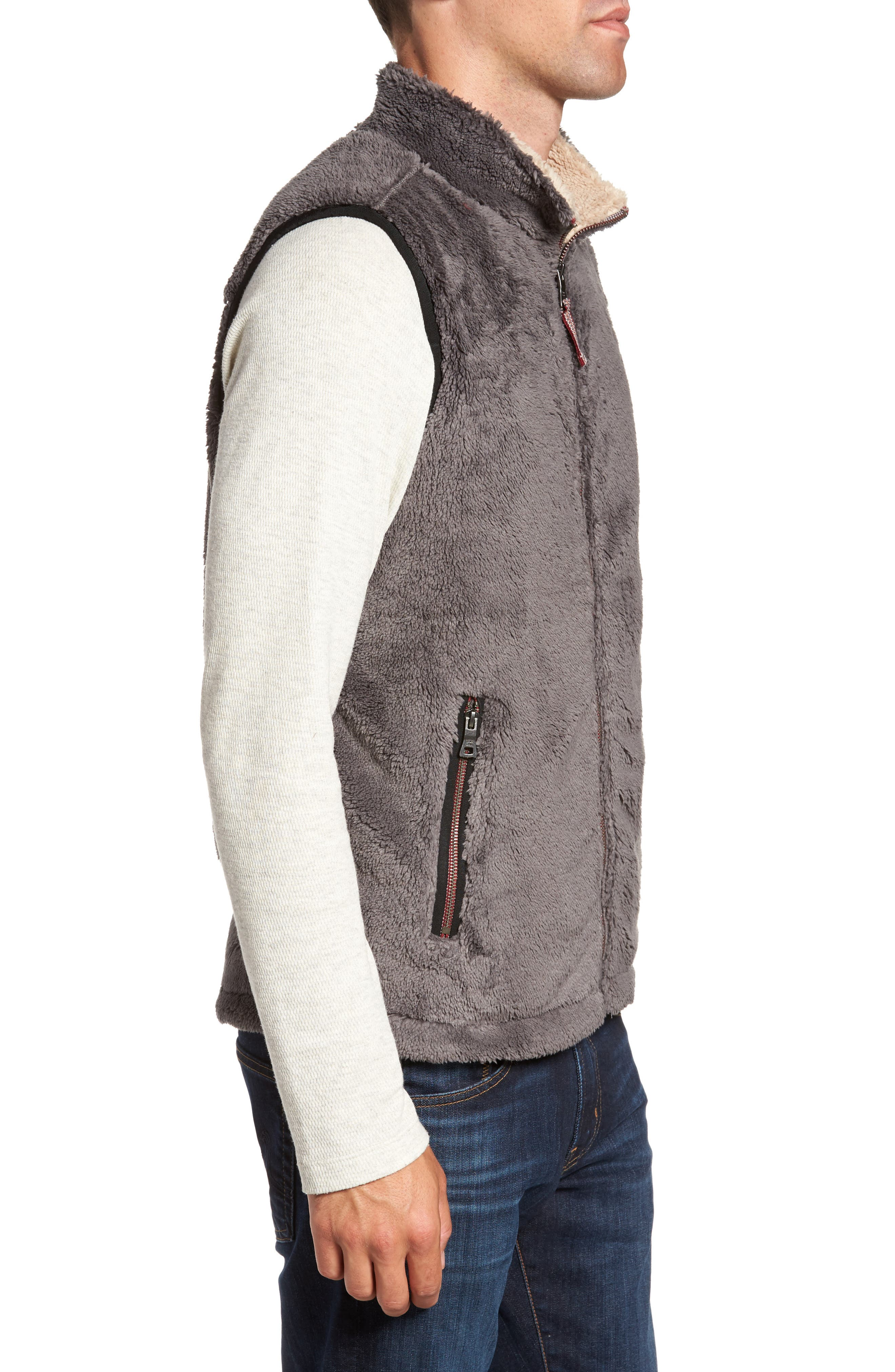 Alternate Image 3  - True Grit Double Up Pebble Pile Faux Fur Vest