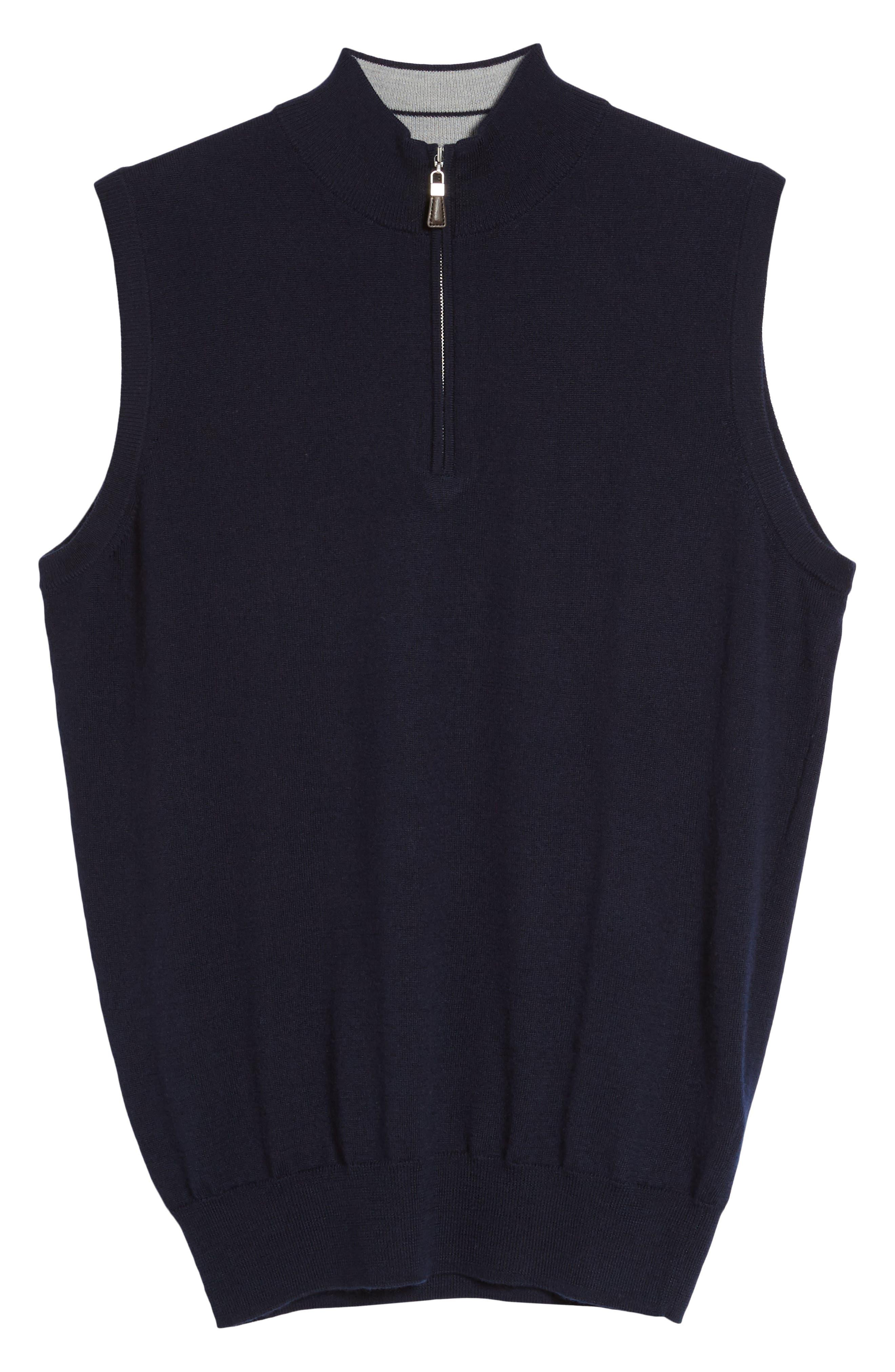 Alternate Image 6  - Peter Millar Crown Soft Merino Blend Quarter Zip Vest