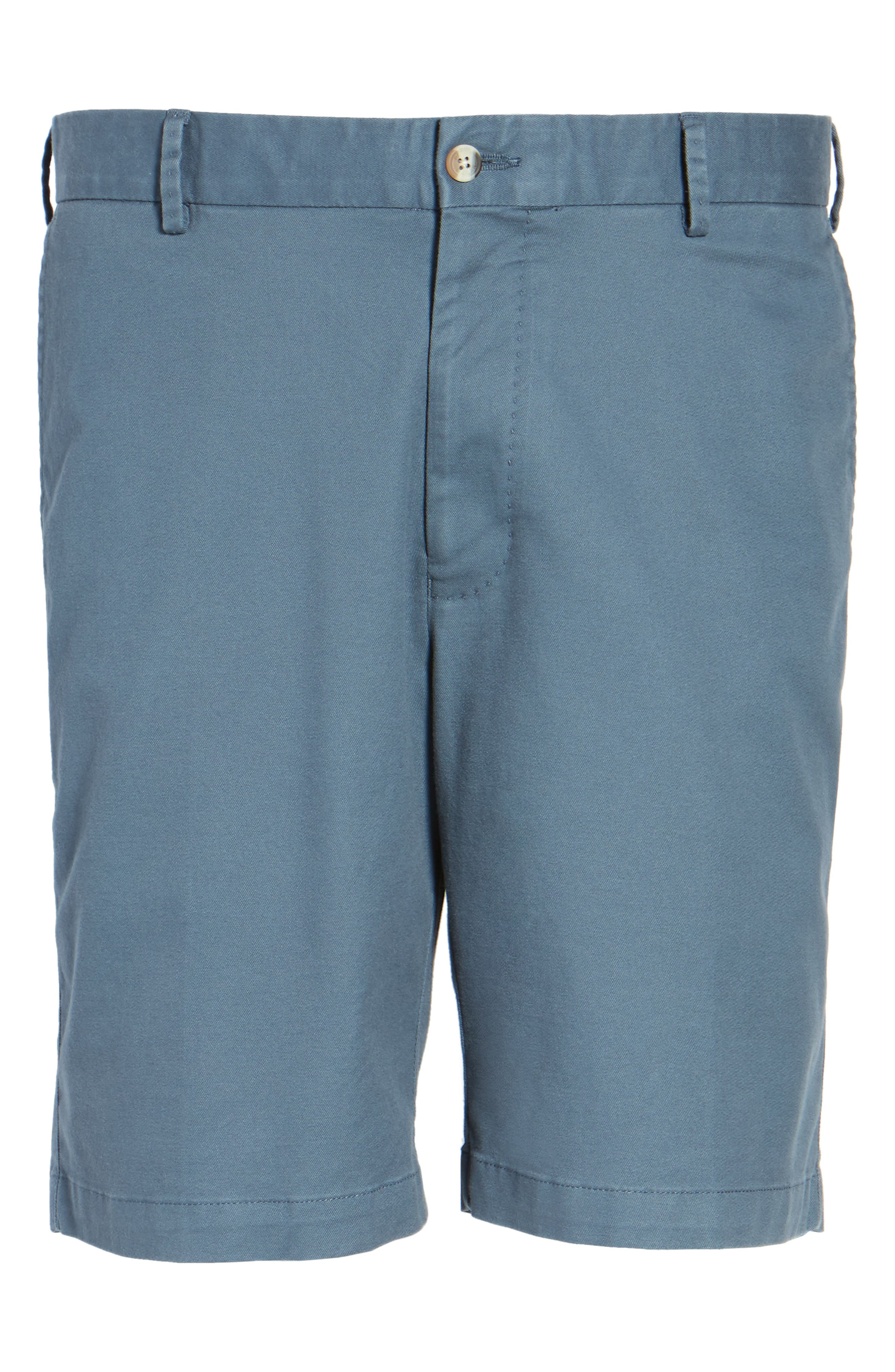 Soft Touch Stretch Twill Shorts,                             Alternate thumbnail 6, color,                             Navy