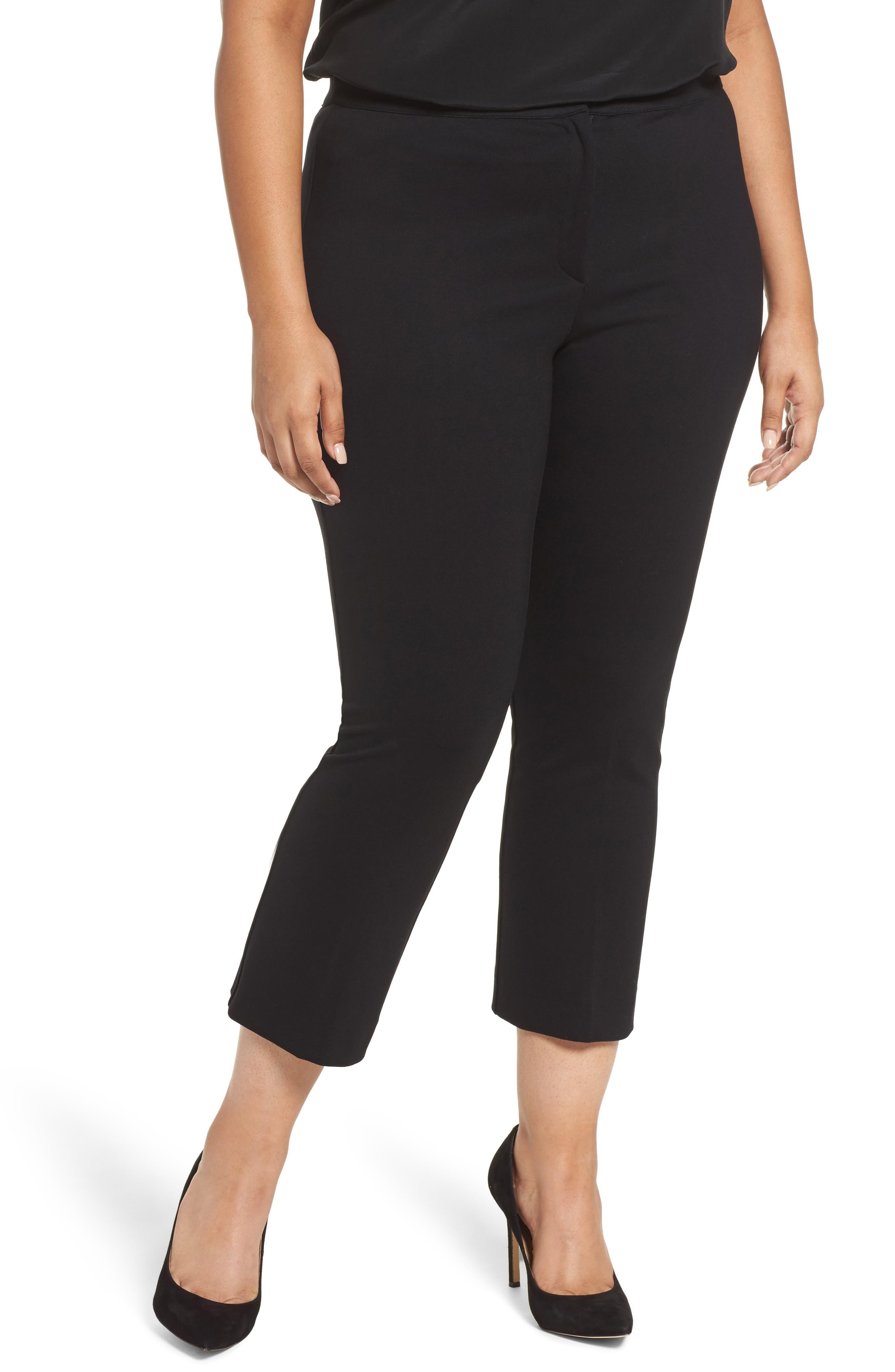 Ove Crop Pants,                         Main,                         color, Black