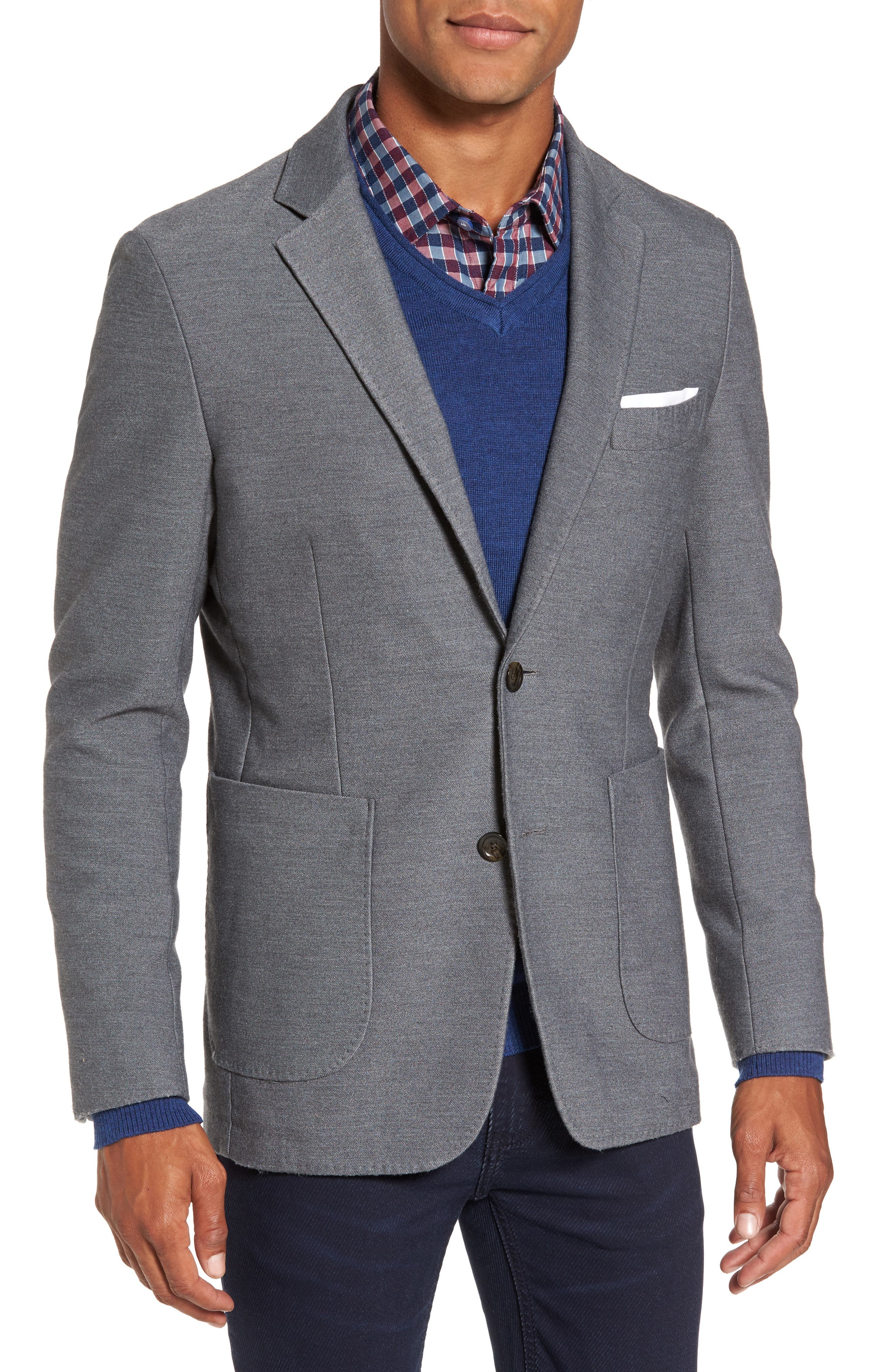 Prices Valley Sport Coat,                             Main thumbnail 1, color,                             Steel