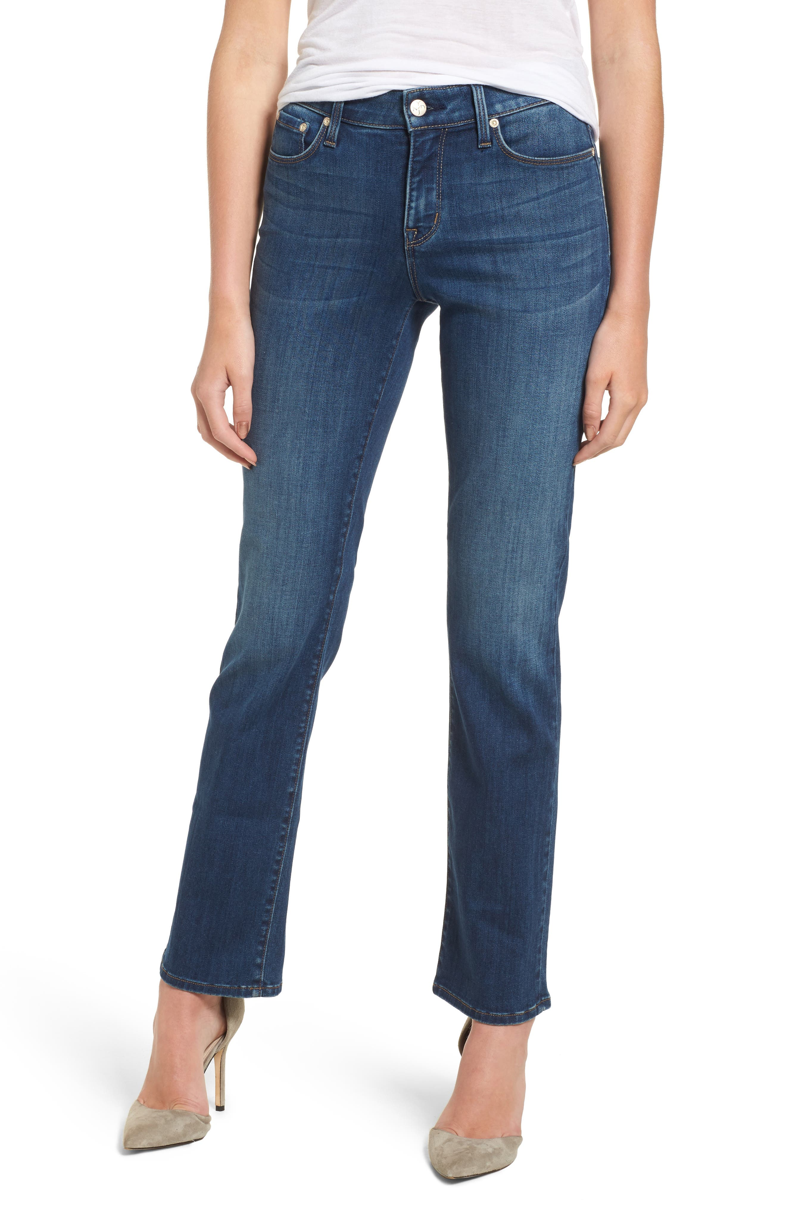 Main Image - NYDJ Marilyn Stretch Straight Leg Jeans (Anson)