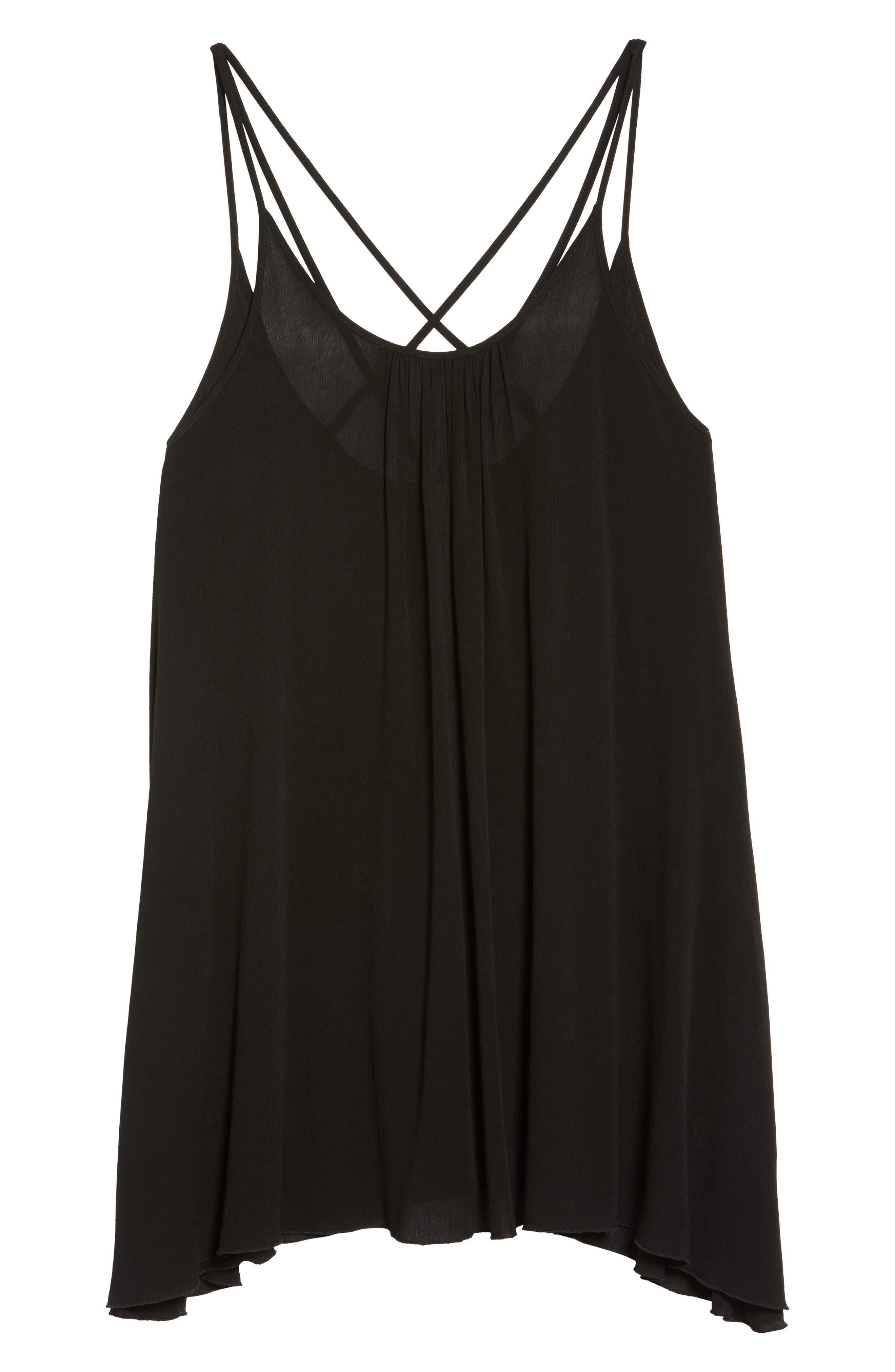 Alternate Image 6  - Elan Cover-Up Dress (Plus Size)