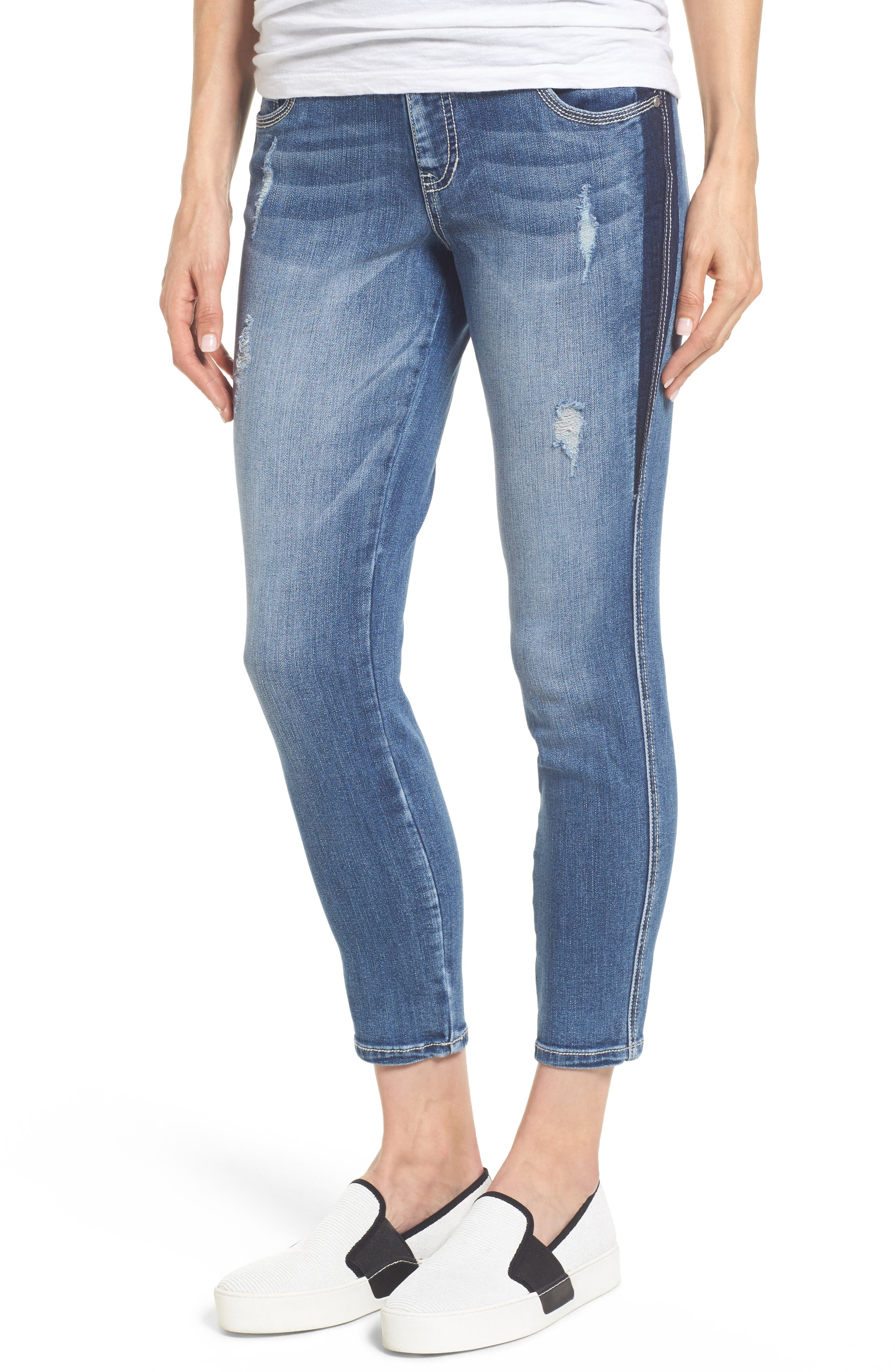 Main Image - Jag Jeans Nora Marta Stretch Skinny Jeans (River Wash)