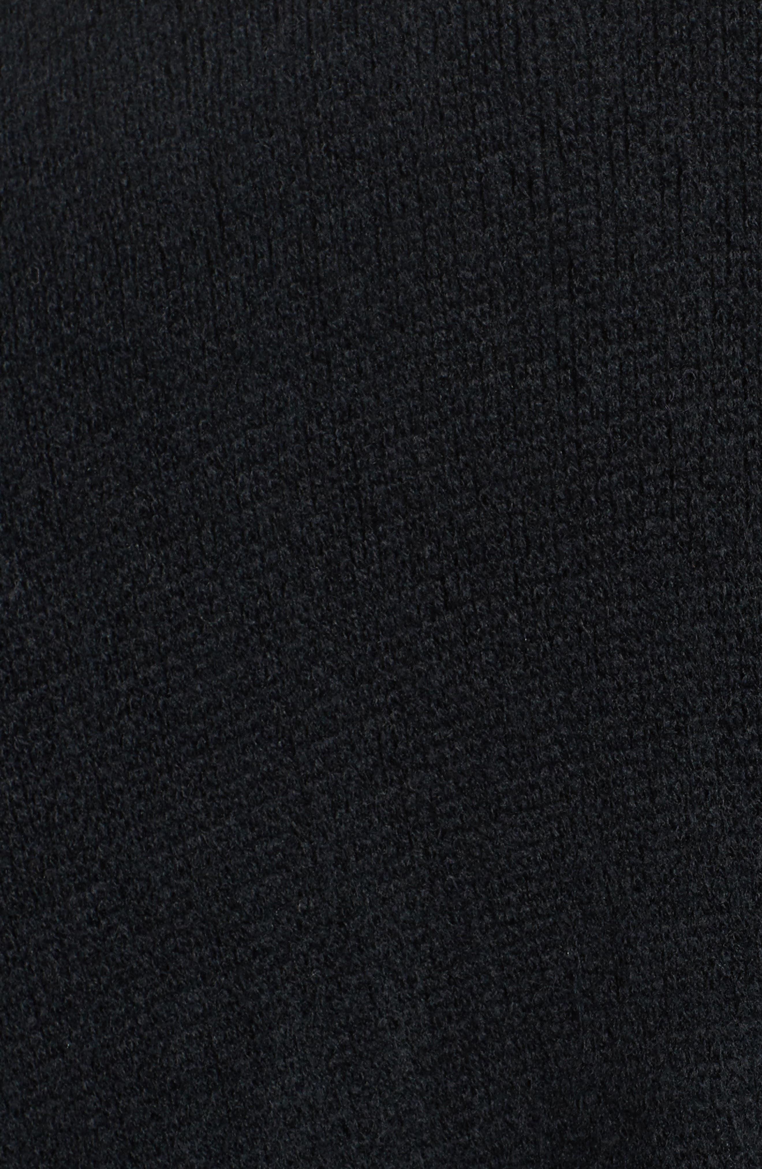 Milk Ruana,                             Alternate thumbnail 6, color,                             Black