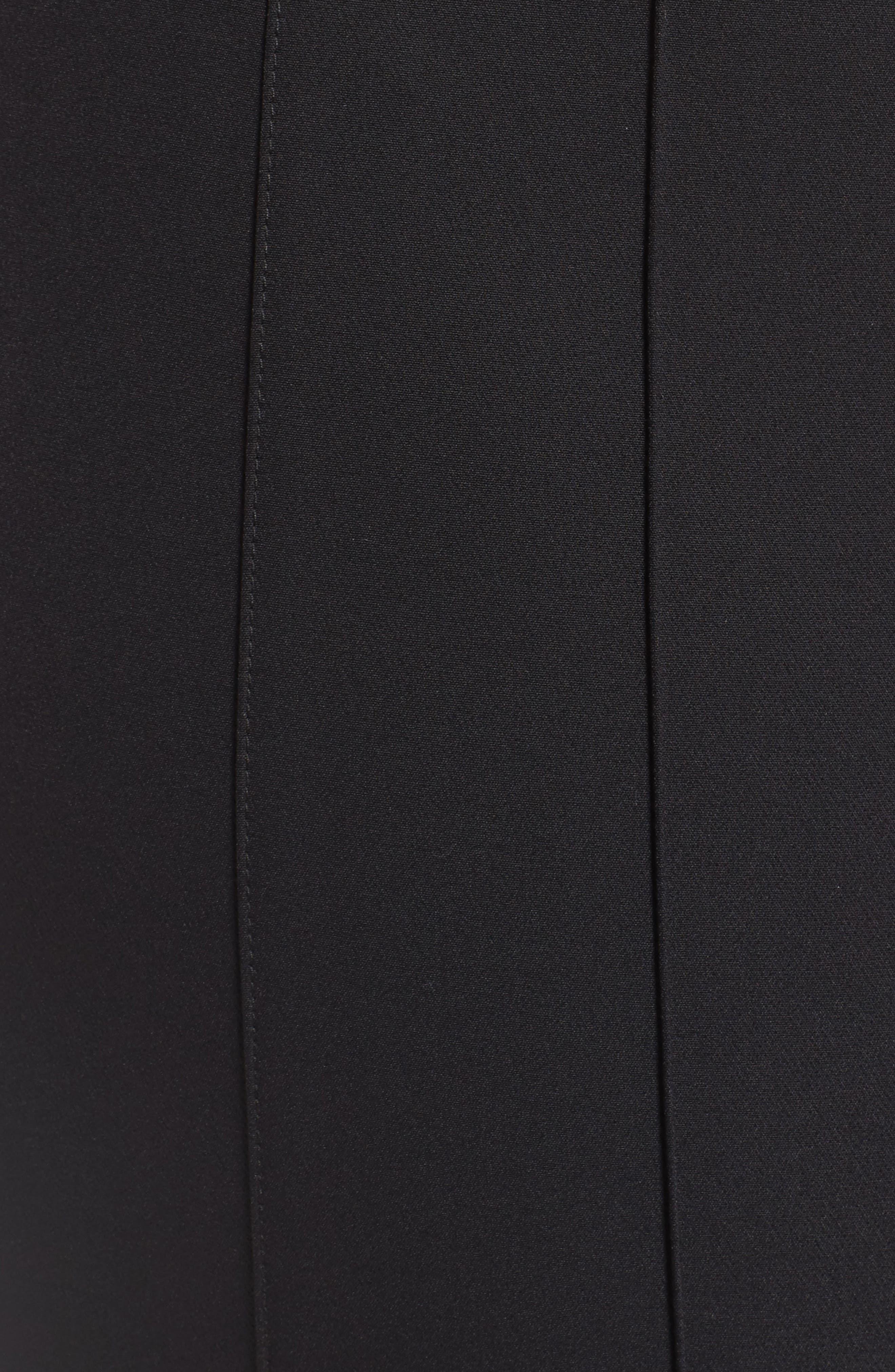 Alternate Image 5  - Lafayette 148 New York City Pintuck Slim Pants (Plus Size)