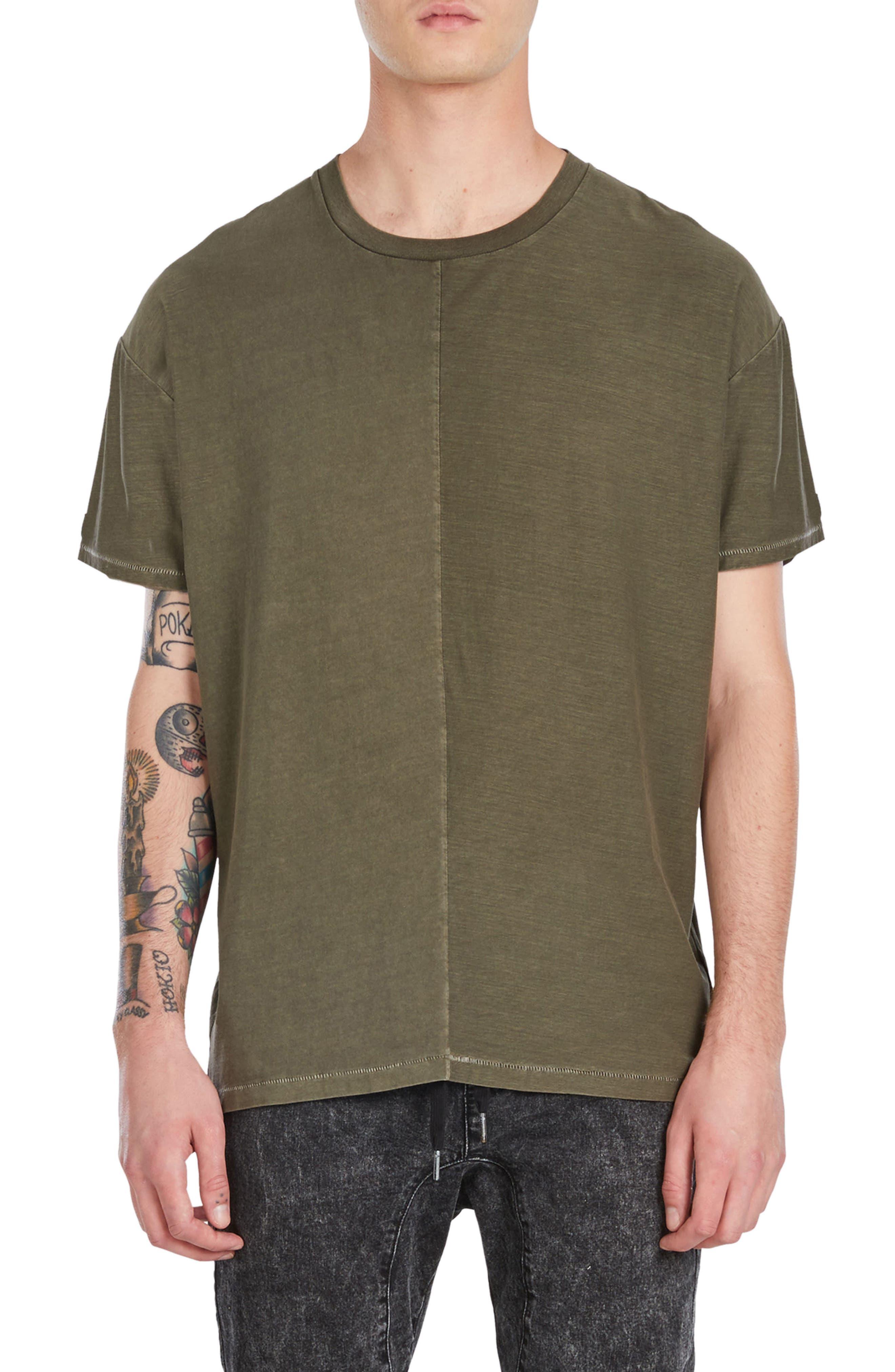 Split Rugger T-Shirt,                             Main thumbnail 1, color,                             Peat