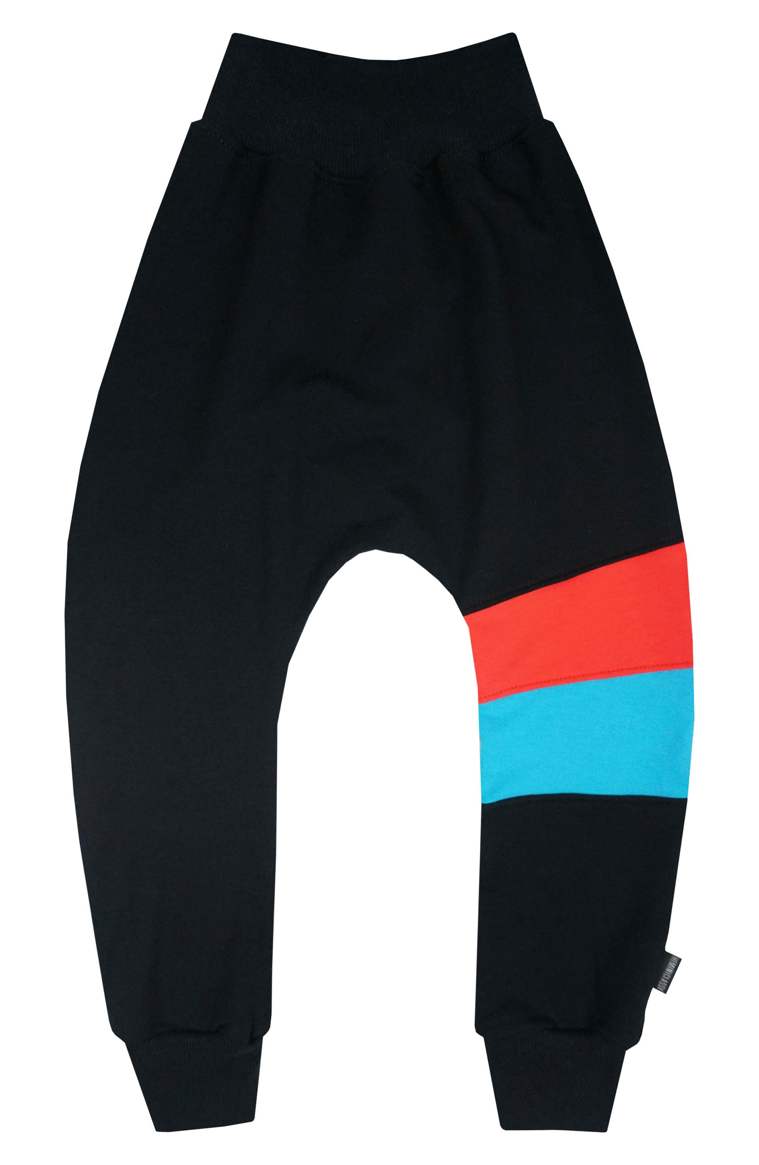 THEMINICLASSY Colorblock Jogger Pants (Toddler Boys & Little Boys)