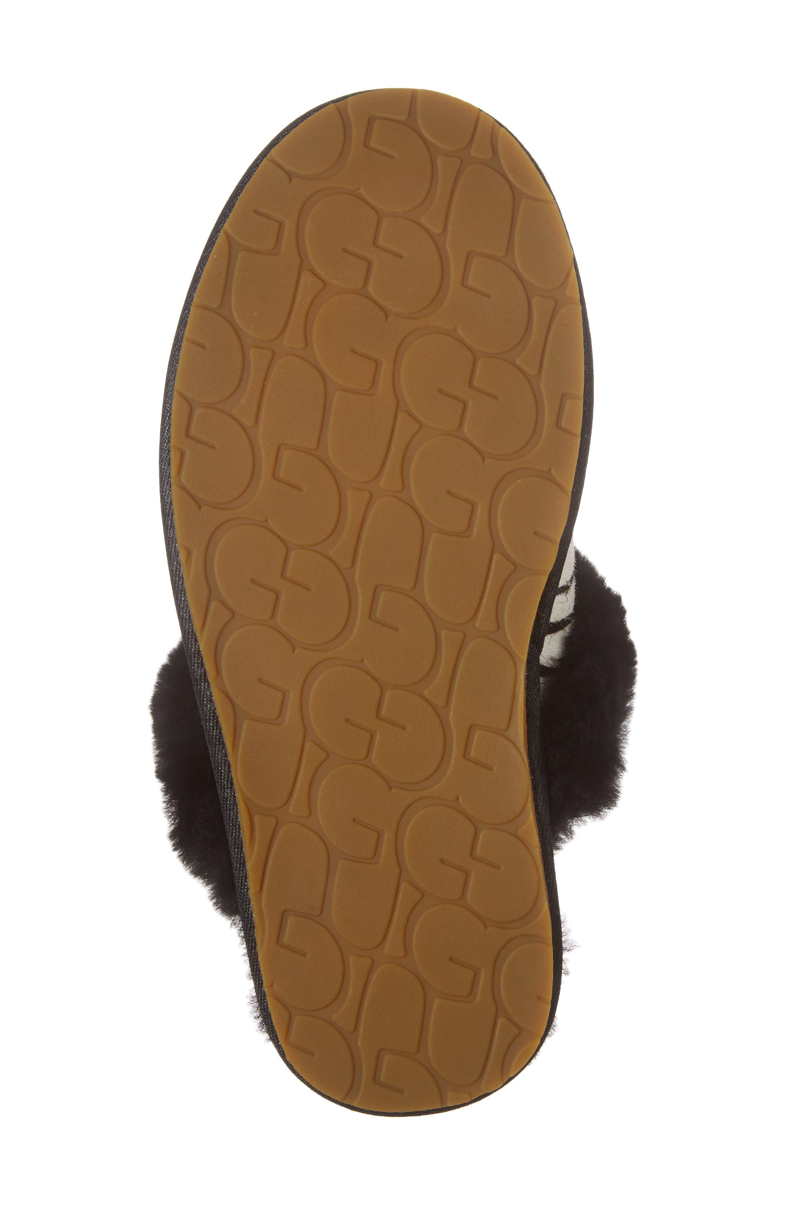 Alternate Image 6  - UGG® Australia Scuffette II - Exotic Genuine Calf Hair Slipper (Women)