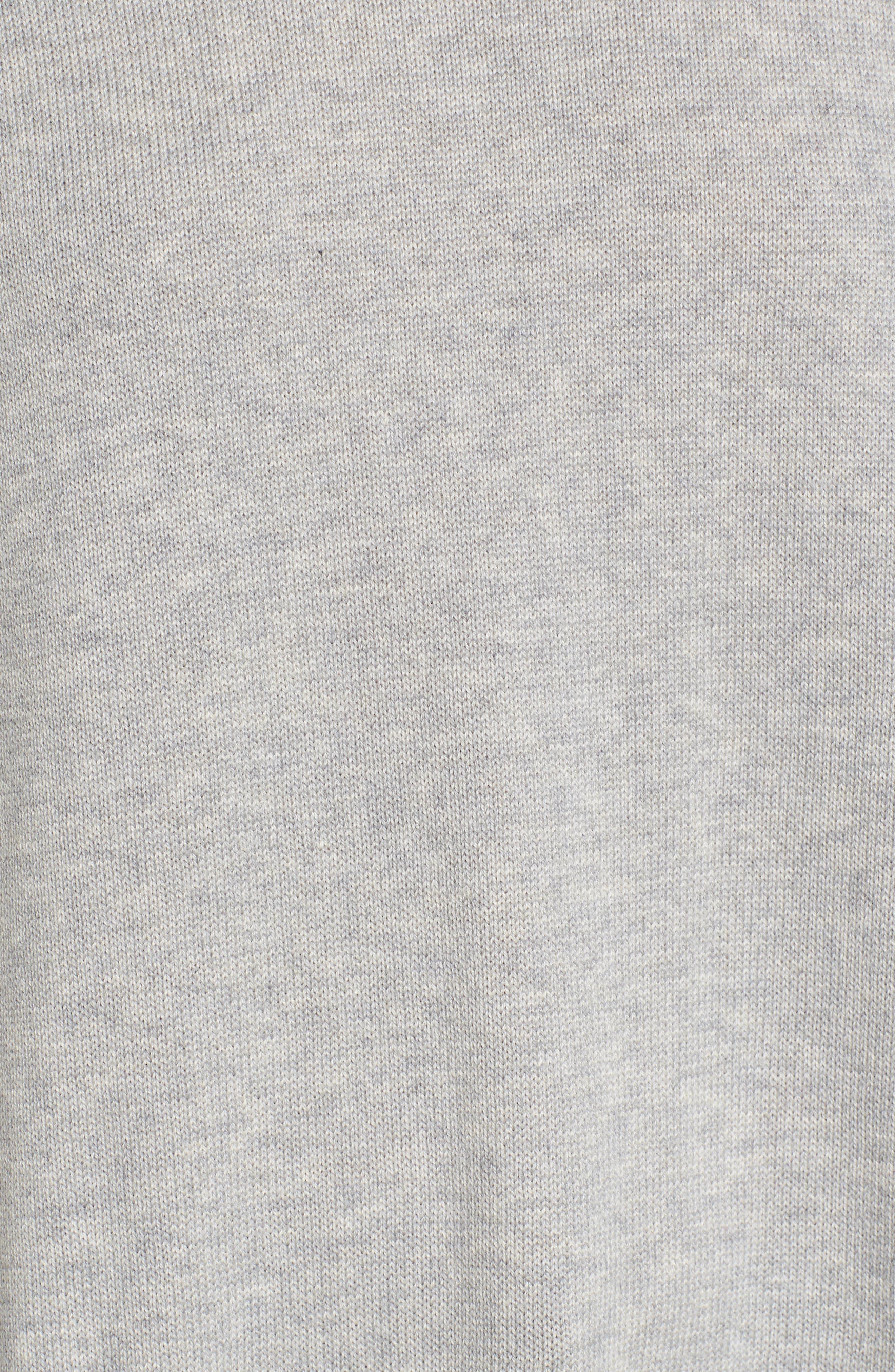 Alternate Image 5  - Eileen Fisher Plait Detail Organic Cotton Boxy Top