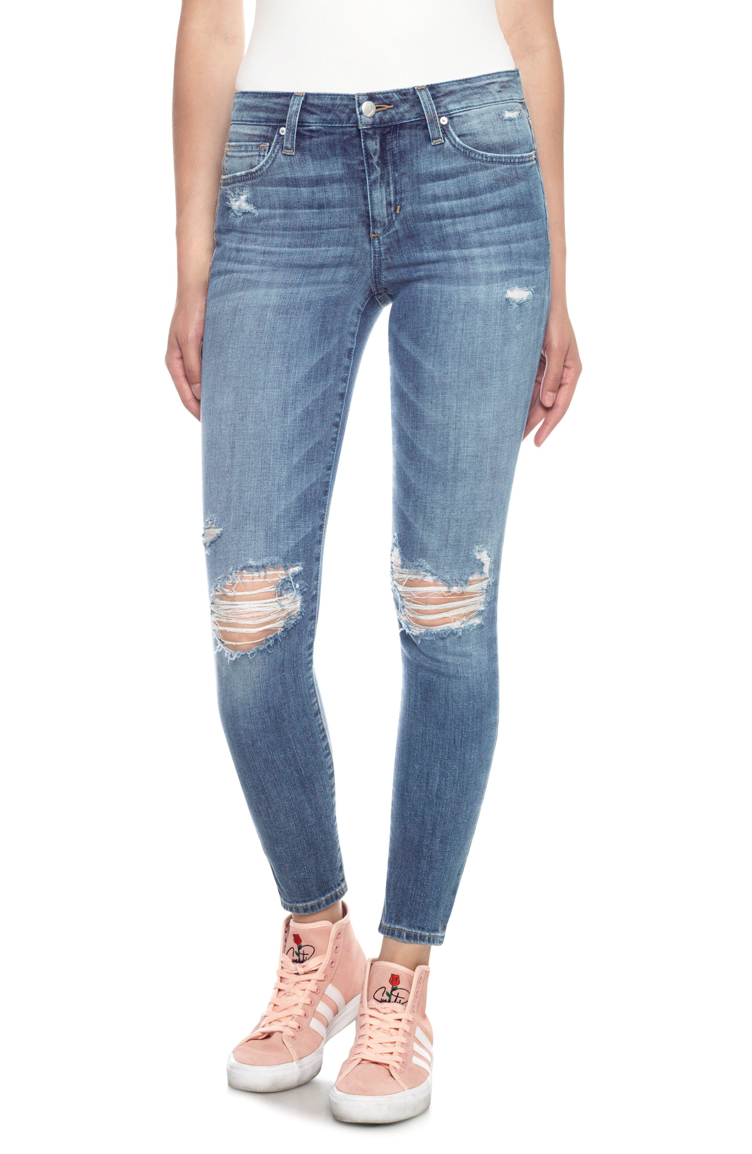 Main Image - Joe's The Icon Skinny Ankle Jeans (Midge)