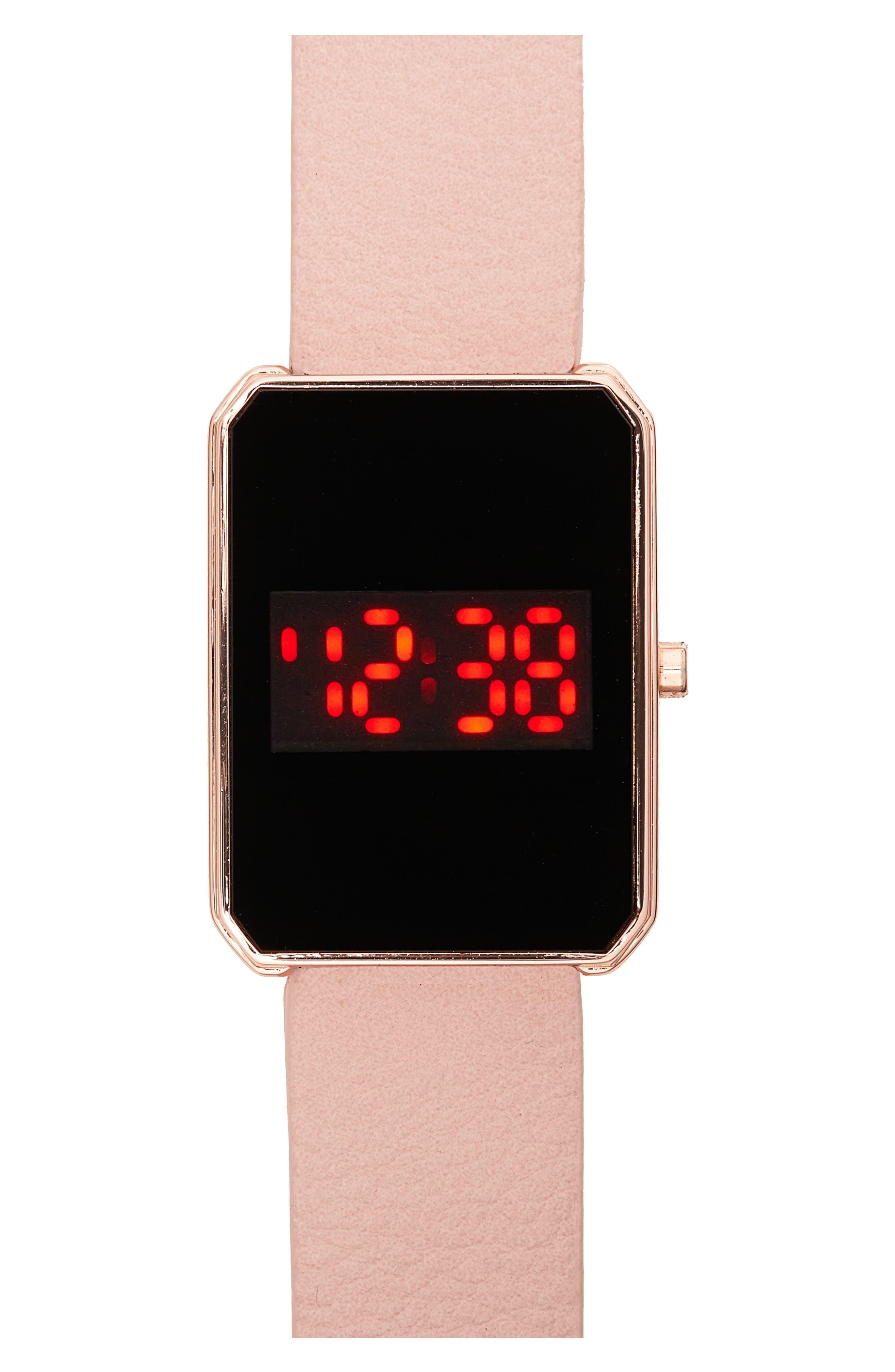 Titanium LED Watch