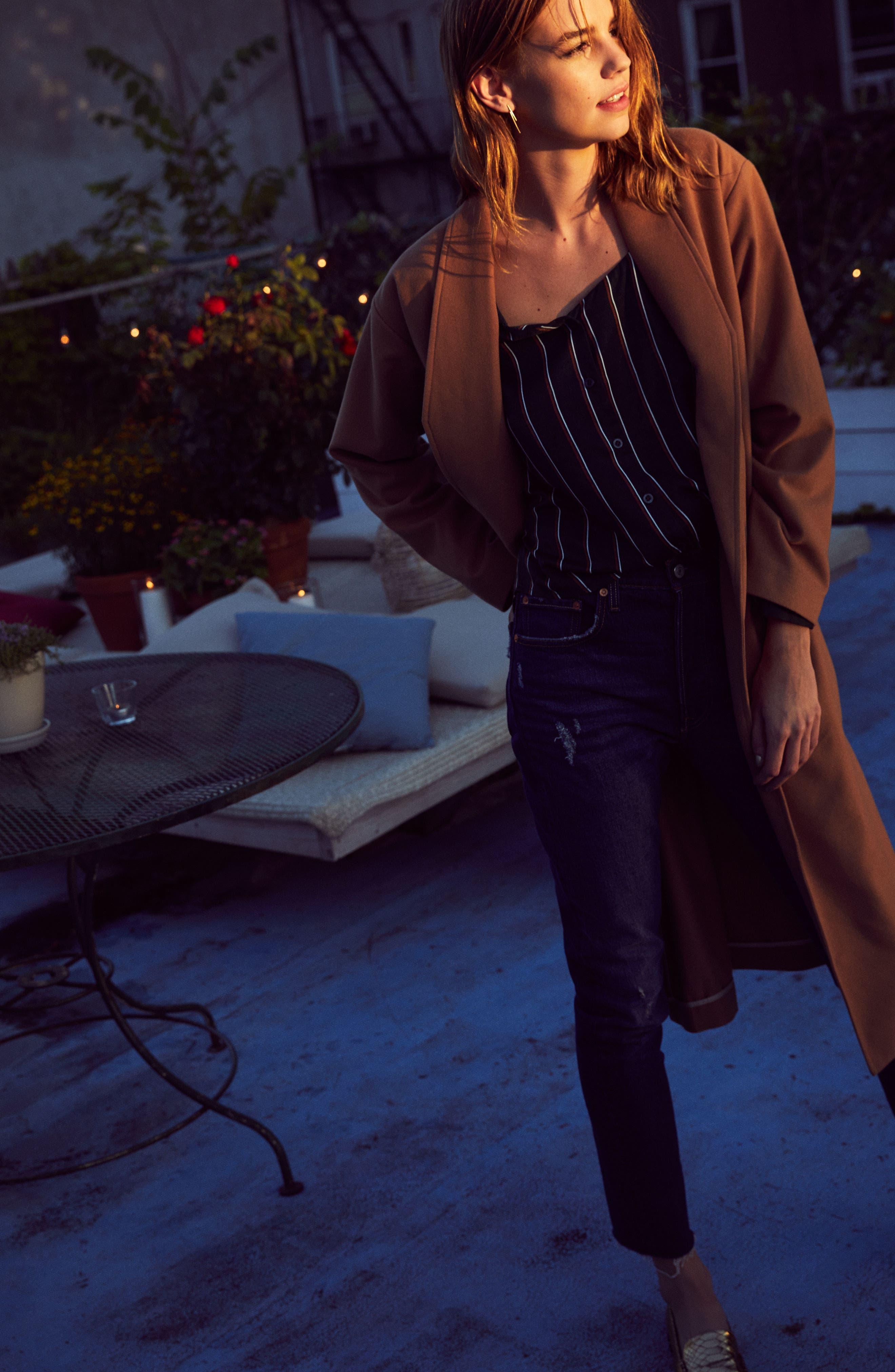 Perfect Midi Coat,                             Alternate thumbnail 3, color,