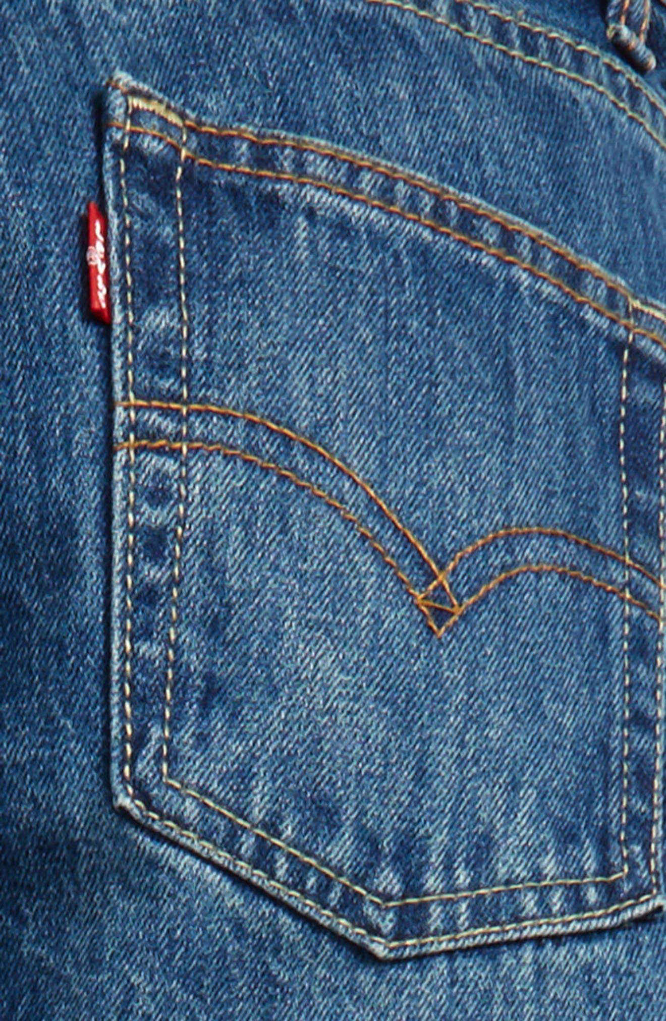514<sup>™</sup> Straight Leg Jeans,                             Alternate thumbnail 3, color,                             Carli Blue