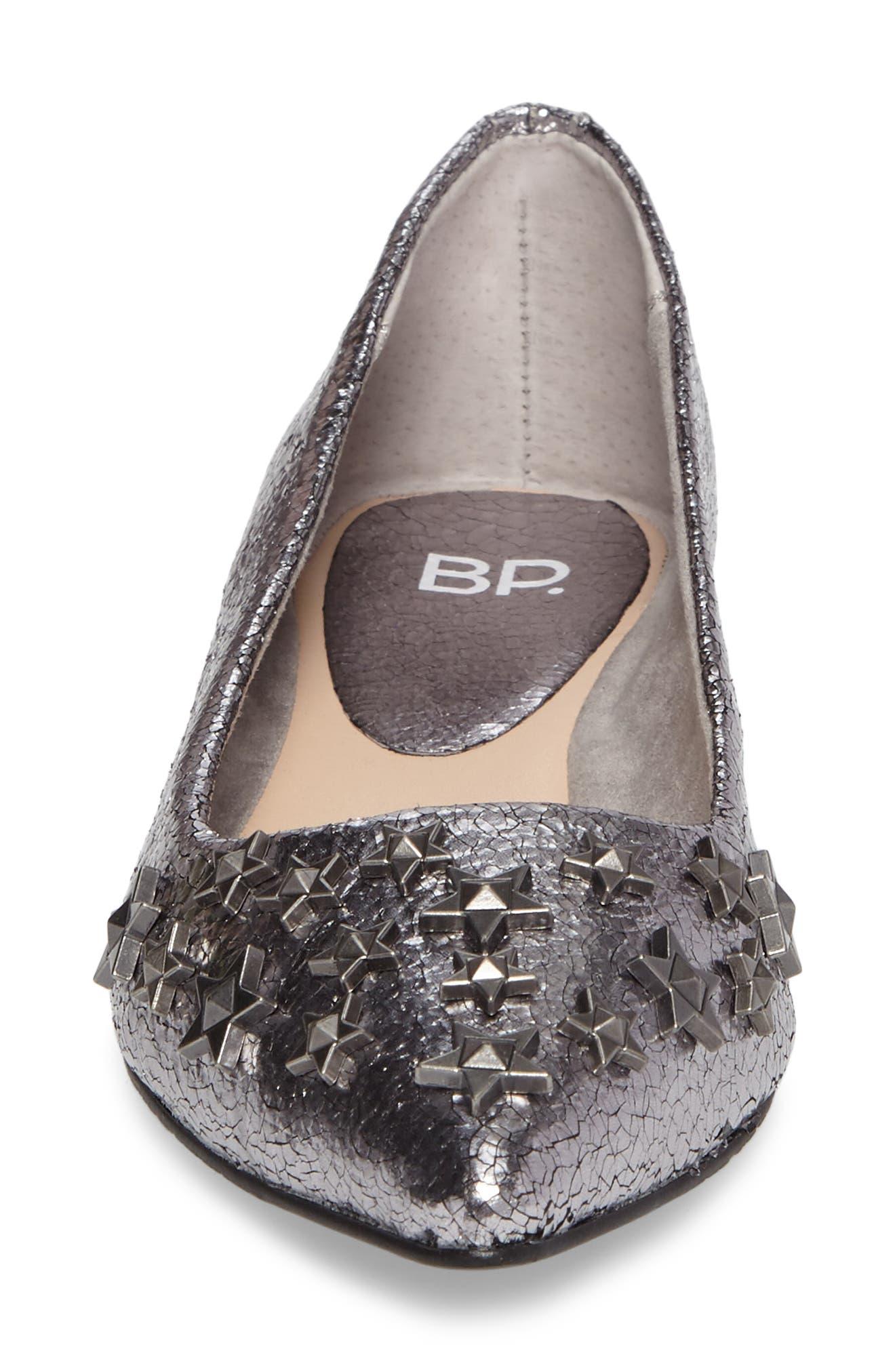 Alternate Image 4  - BP. Stella Embellished Flat (Women)