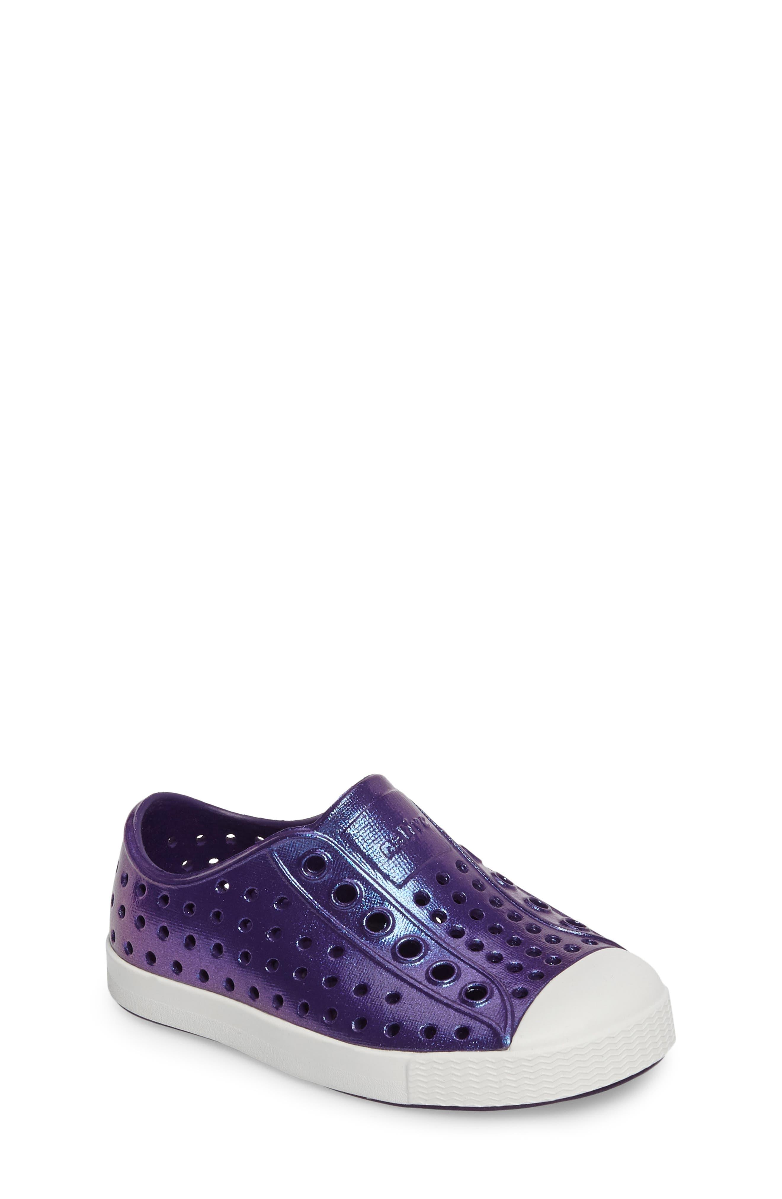 Alternate Image 1 Selected - Native Shoes 'Jefferson' Iridescent Slip-On Sneaker (Baby, Walker, Toddler & Little Kid)