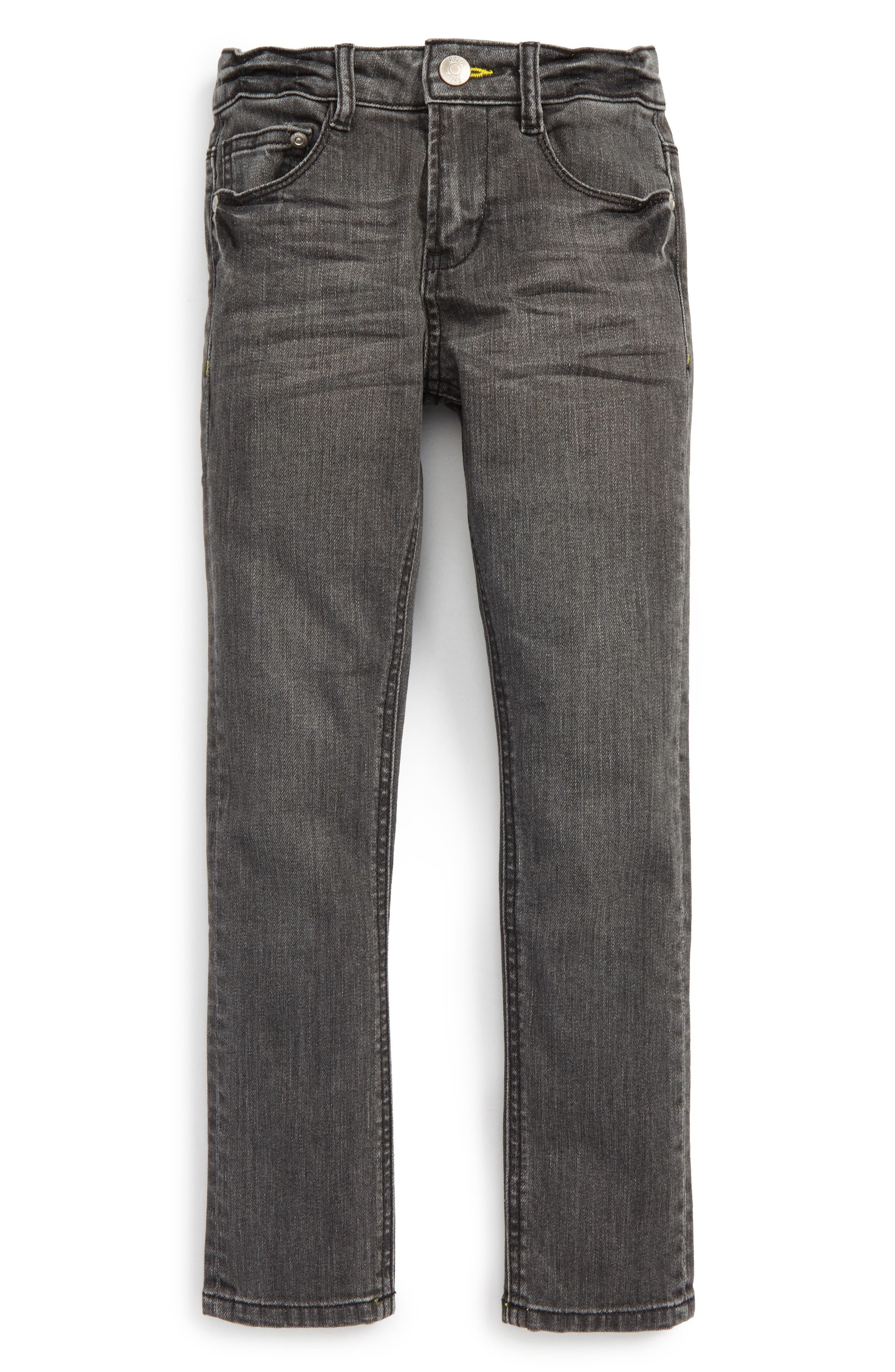 Skinny Jeans,                         Main,                         color, Grey Denim