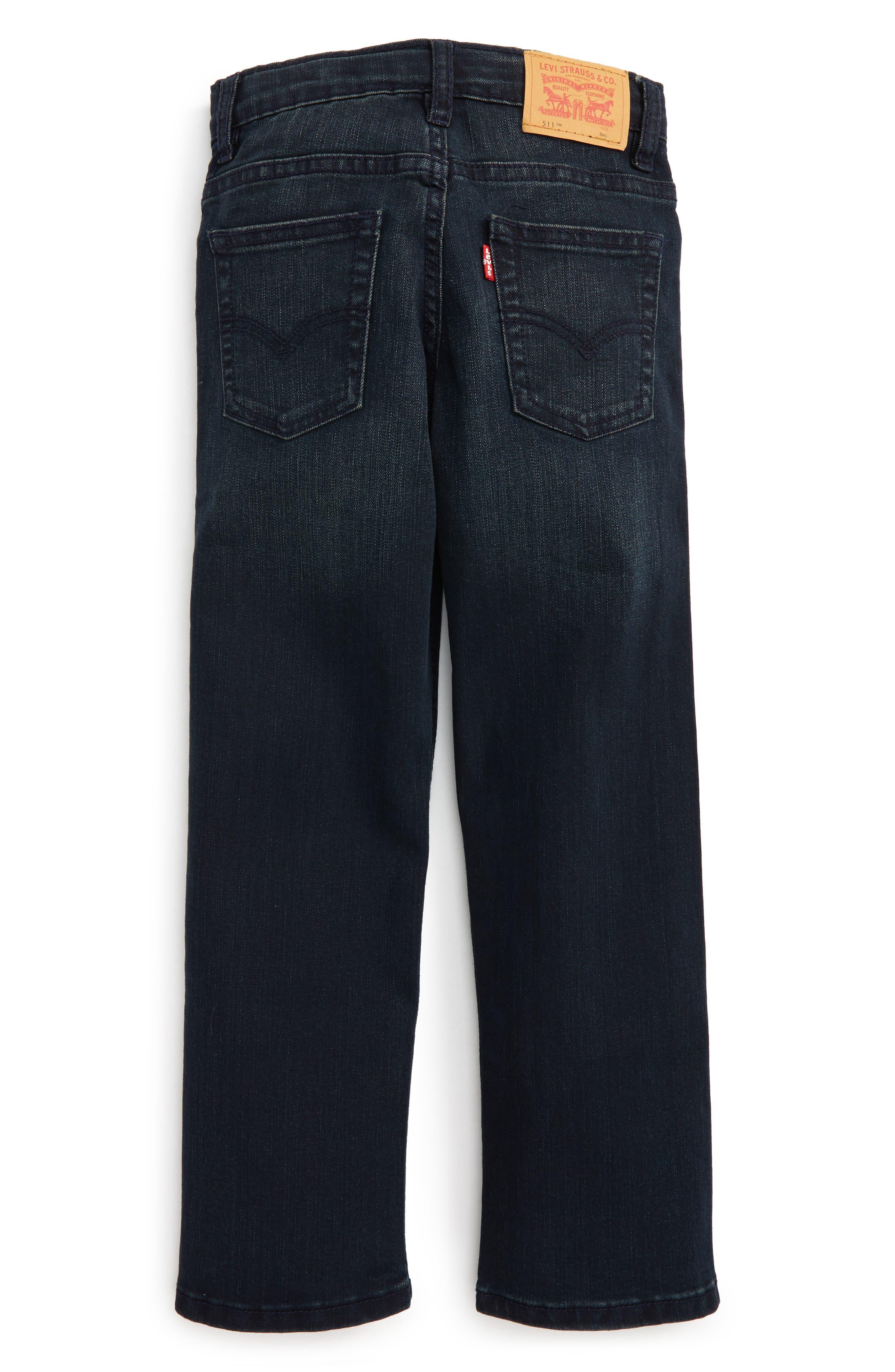 511 Slim Fit Jeans,                             Alternate thumbnail 3, color,                             A Blue