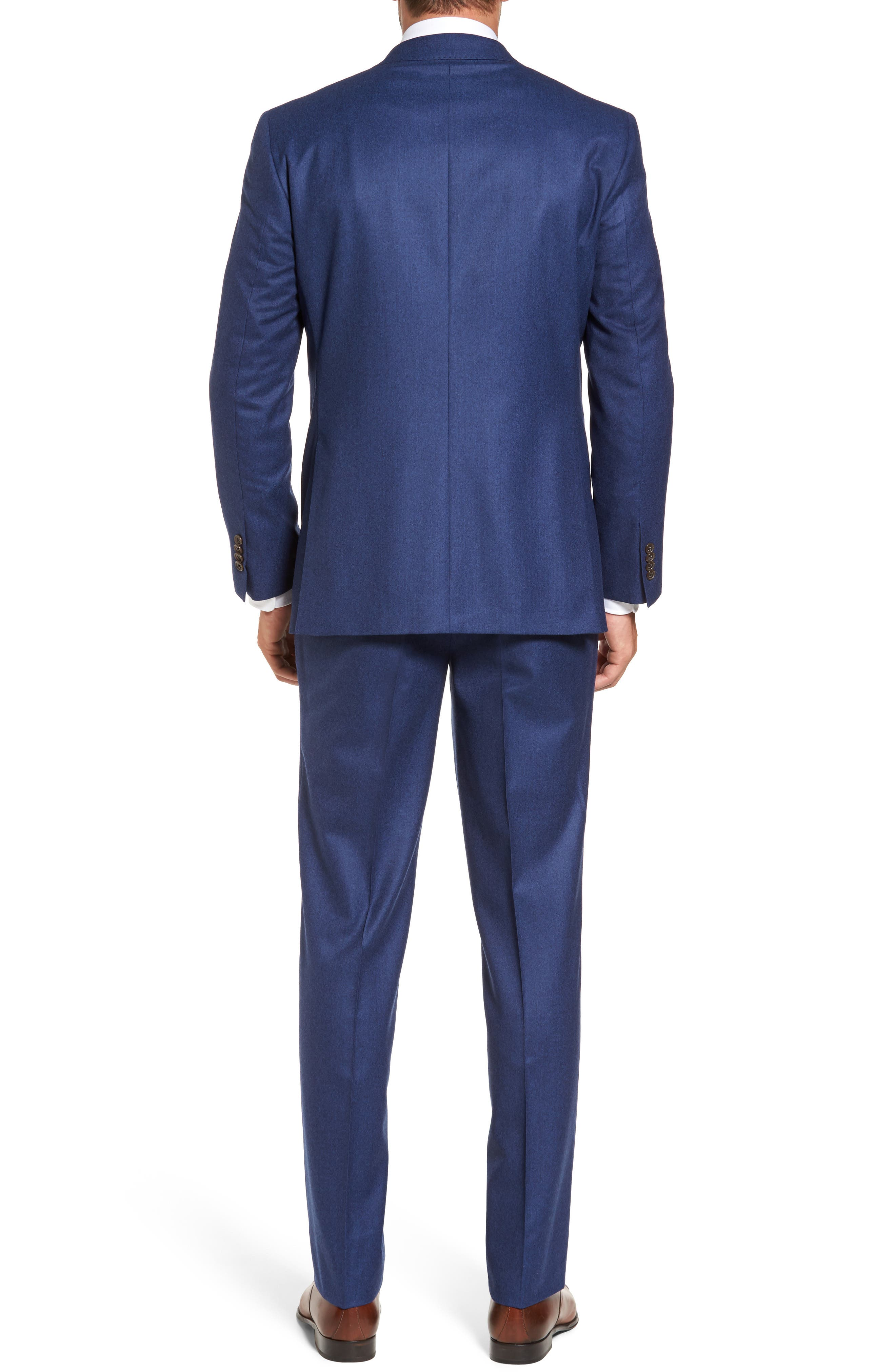 Ryan Classic Fit Solid Wool Suit,                             Alternate thumbnail 2, color,                             Blue