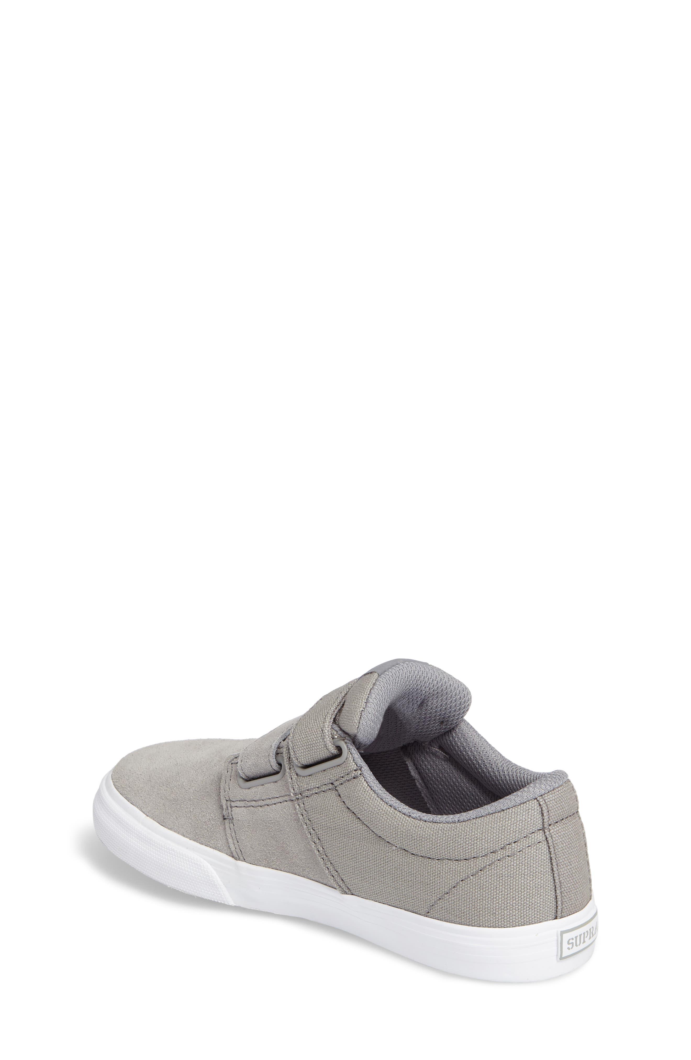 Alternate Image 2  - Supra Stacks Low Top Sneaker (Toddler, Little Kid & Big Kid)