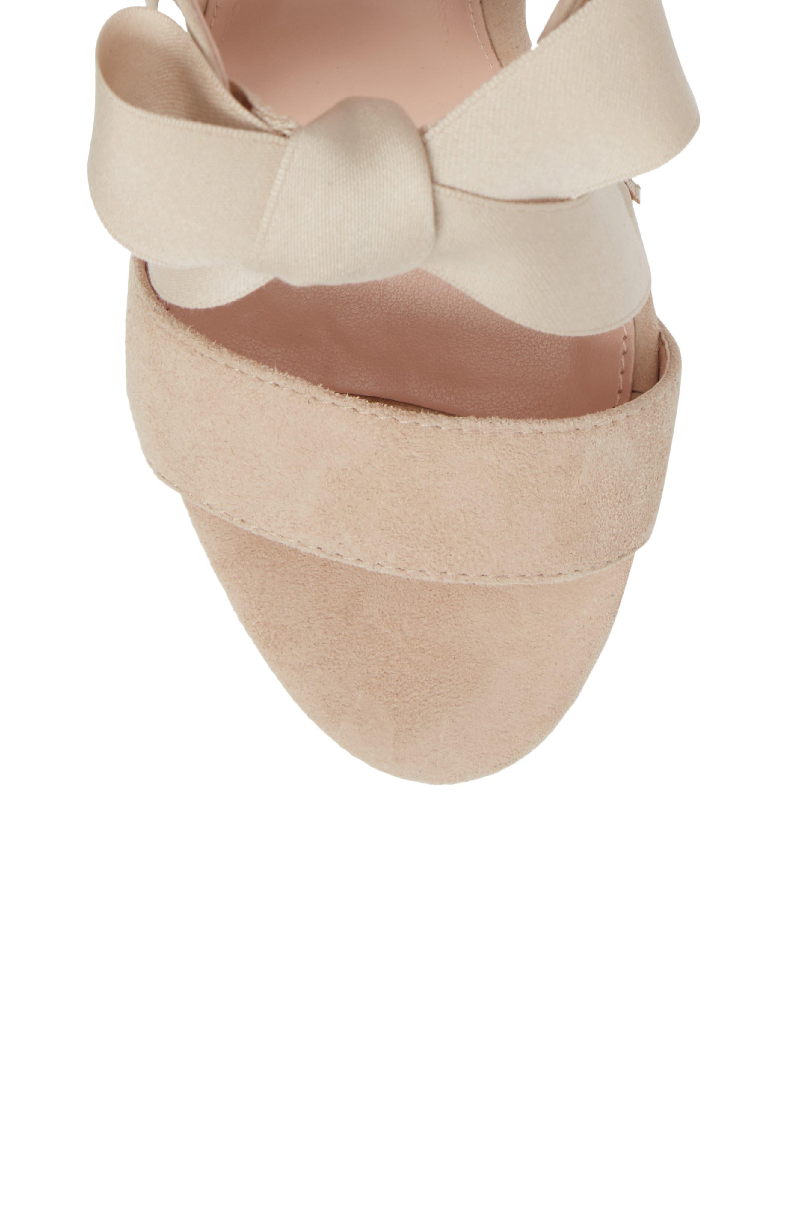 Alternate Image 5  - Avec Les Filles Megan Tie Strap Sandal (Women)