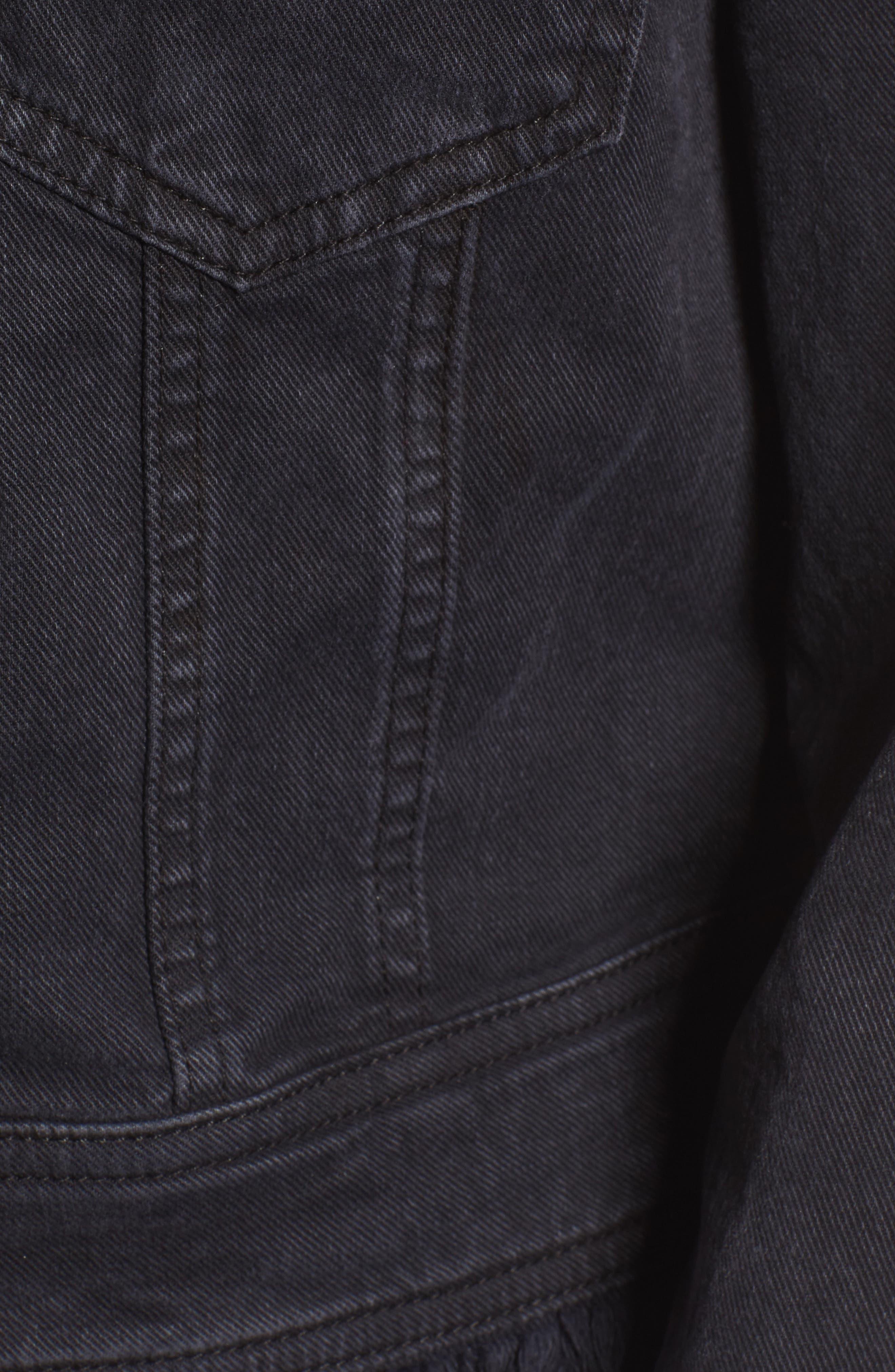 Alternate Image 5  - 7 For All Mankind® Embellished Boyfriend Denim Jacket