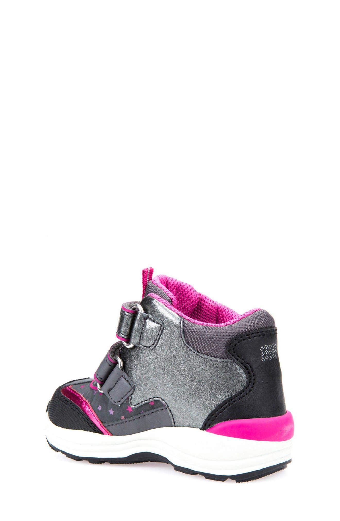 Alternate Image 2  - Geox Gulp ABX Waterproof Star Sneaker Boot (Walker & Toddler)