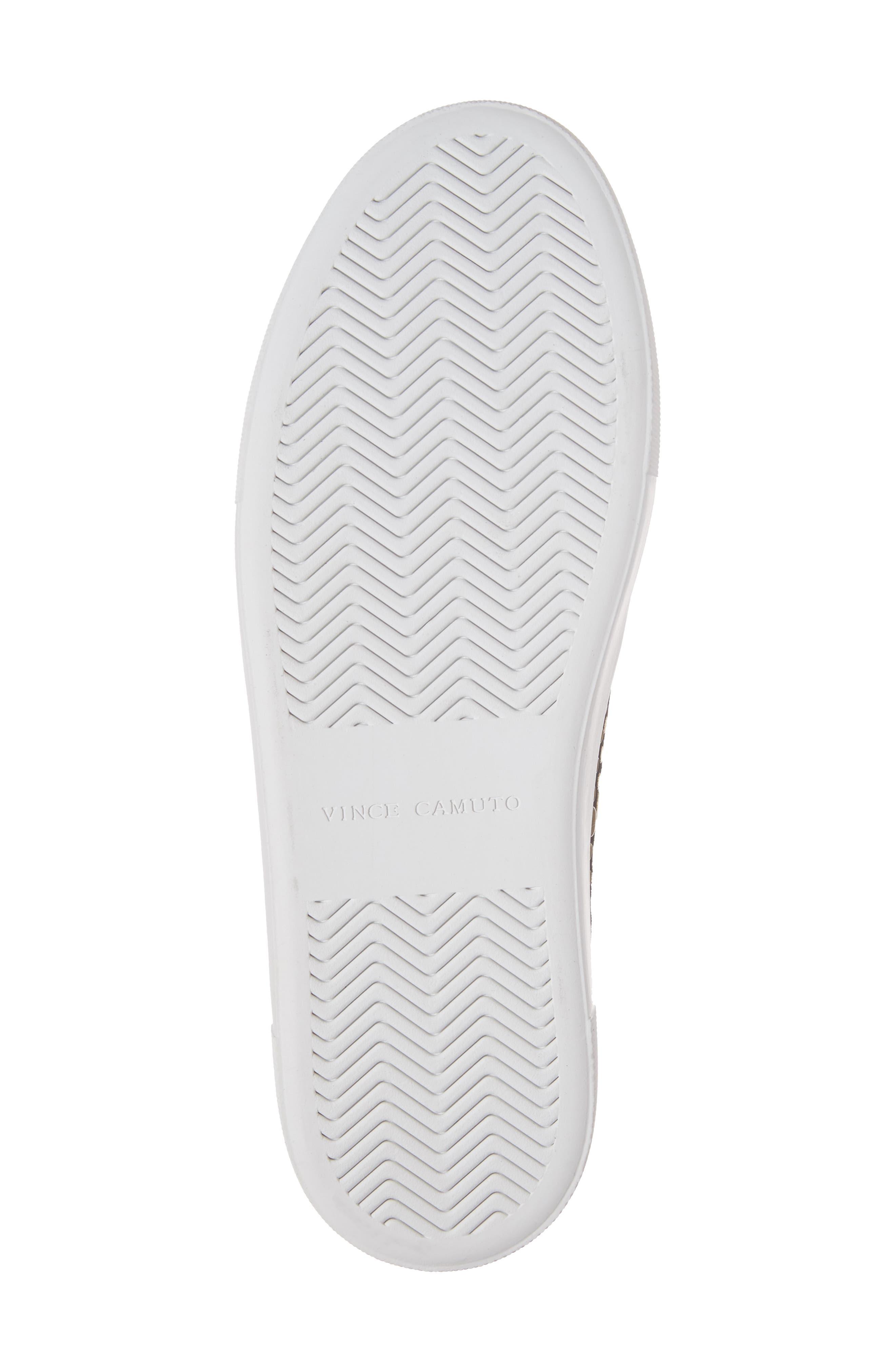 Kindra Stud Slip-On Sneaker,                             Alternate thumbnail 6, color,                             Black Suede