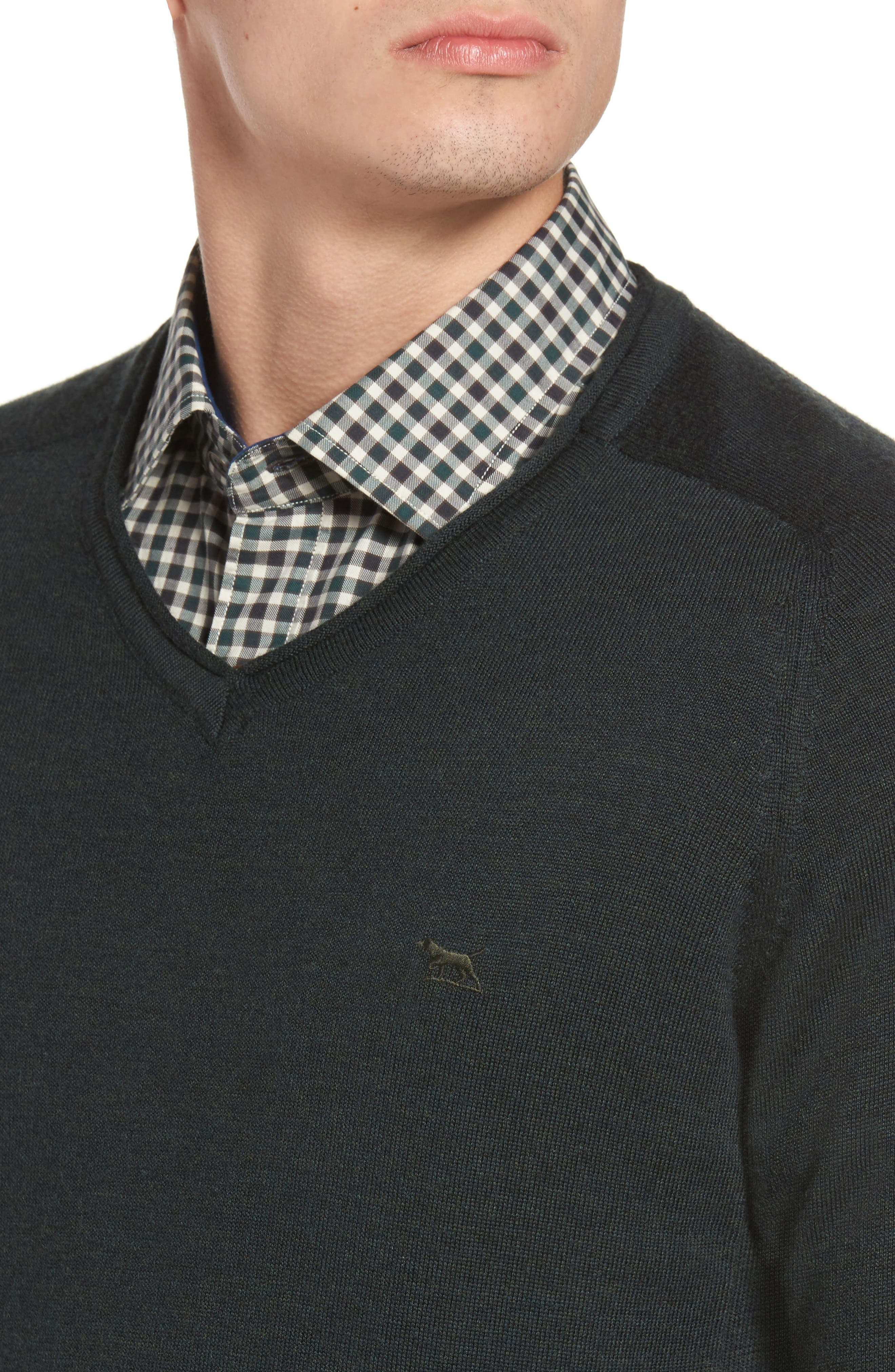 Alternate Image 4  - Rodd & Gunn Burfield Wool Sweater