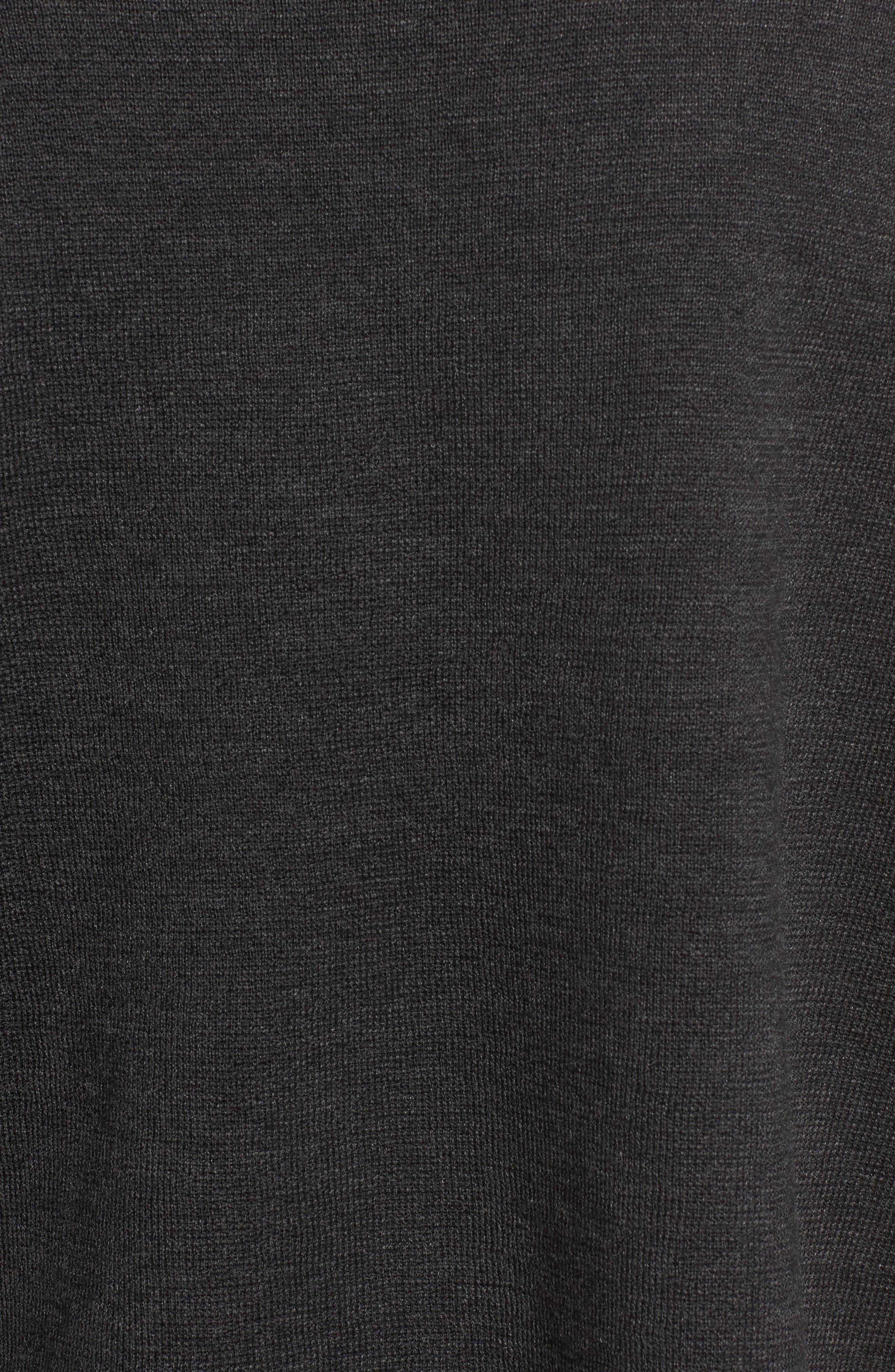 Alternate Image 5  - Eileen Fisher Mock Neck Box Wool Sweater