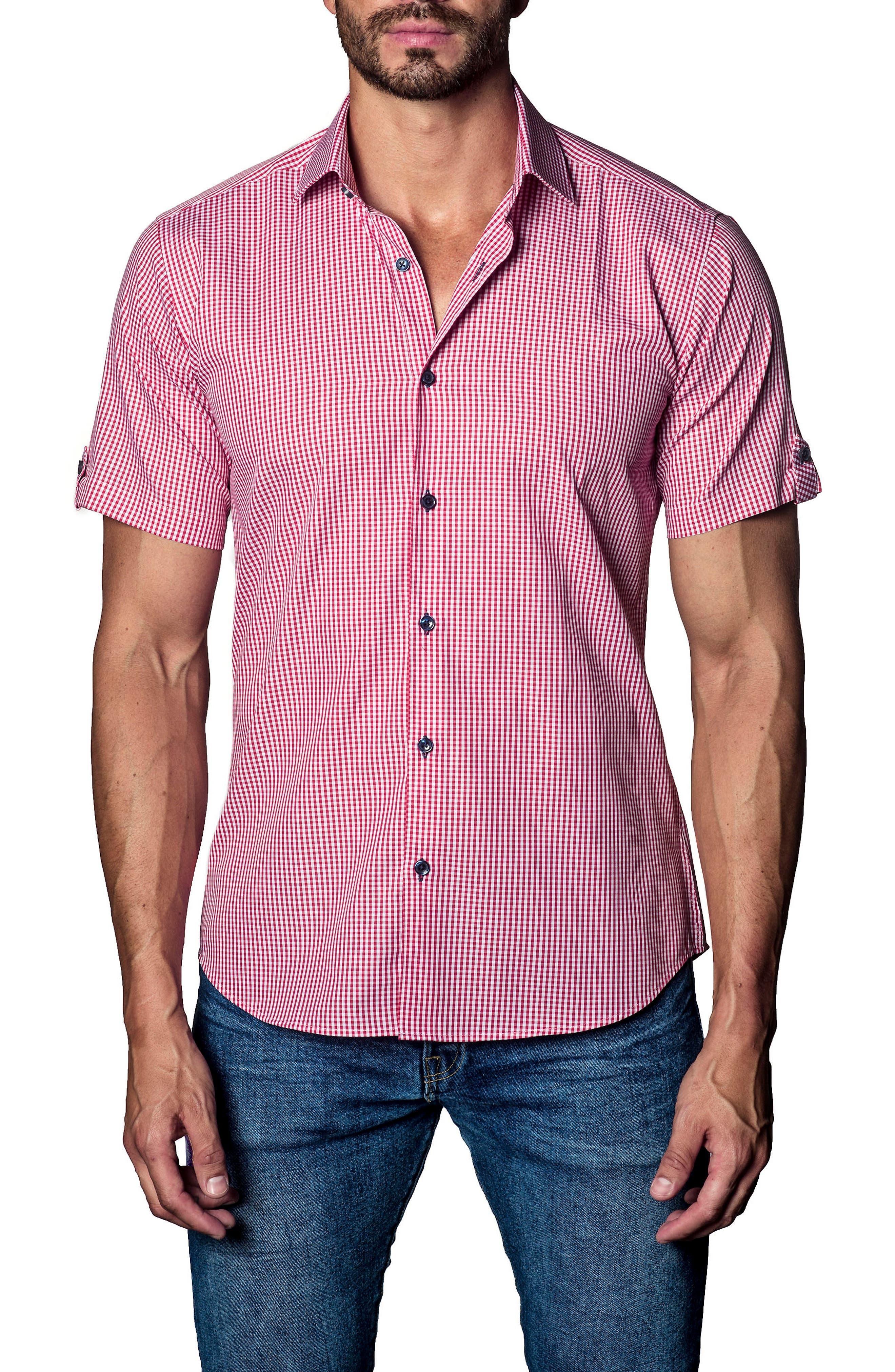 Alternate Image 1 Selected - Jared Lang Check Sport Shirt