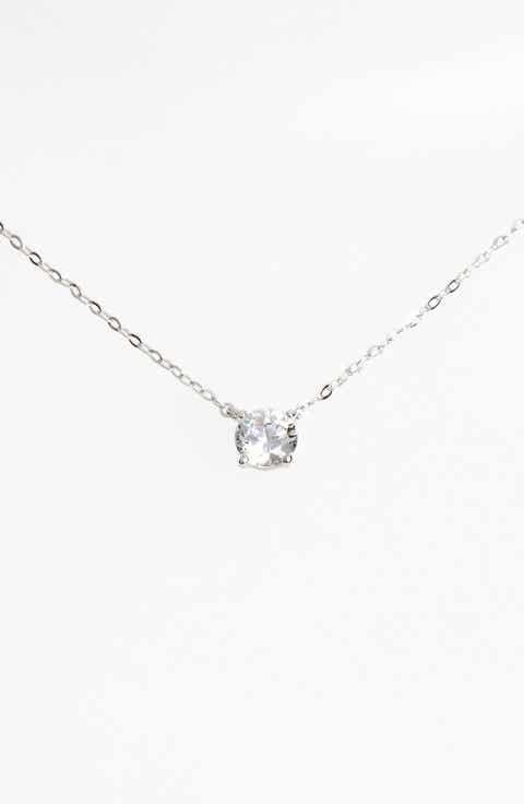 Womens pendant necklaces nordstrom nadri cubic zirconia pendant necklace mozeypictures Gallery
