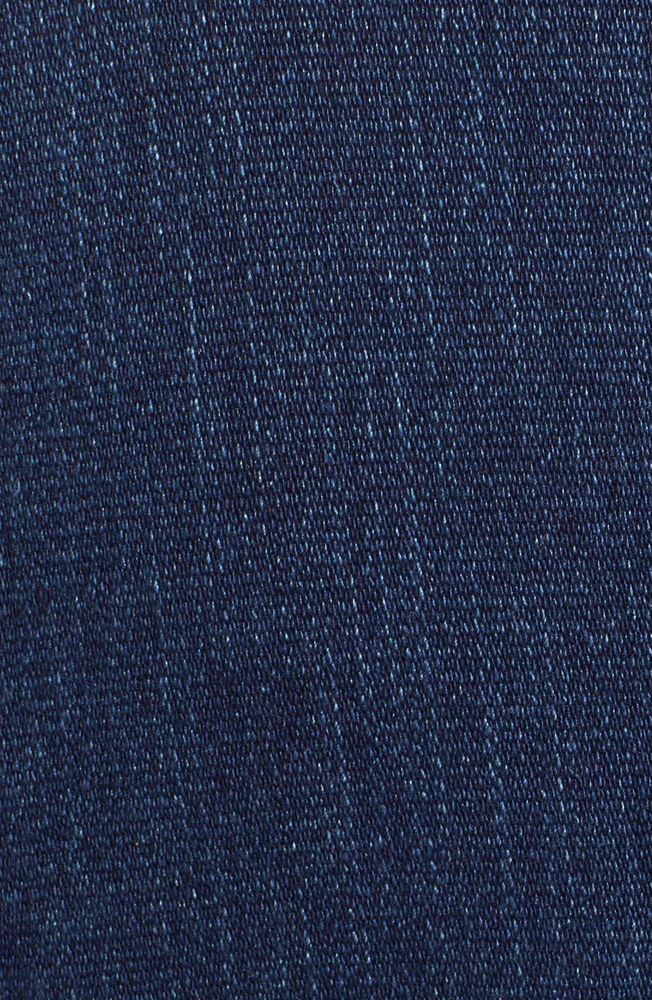 Denim Jacket,                             Alternate thumbnail 5, color,                             Anchor Blue